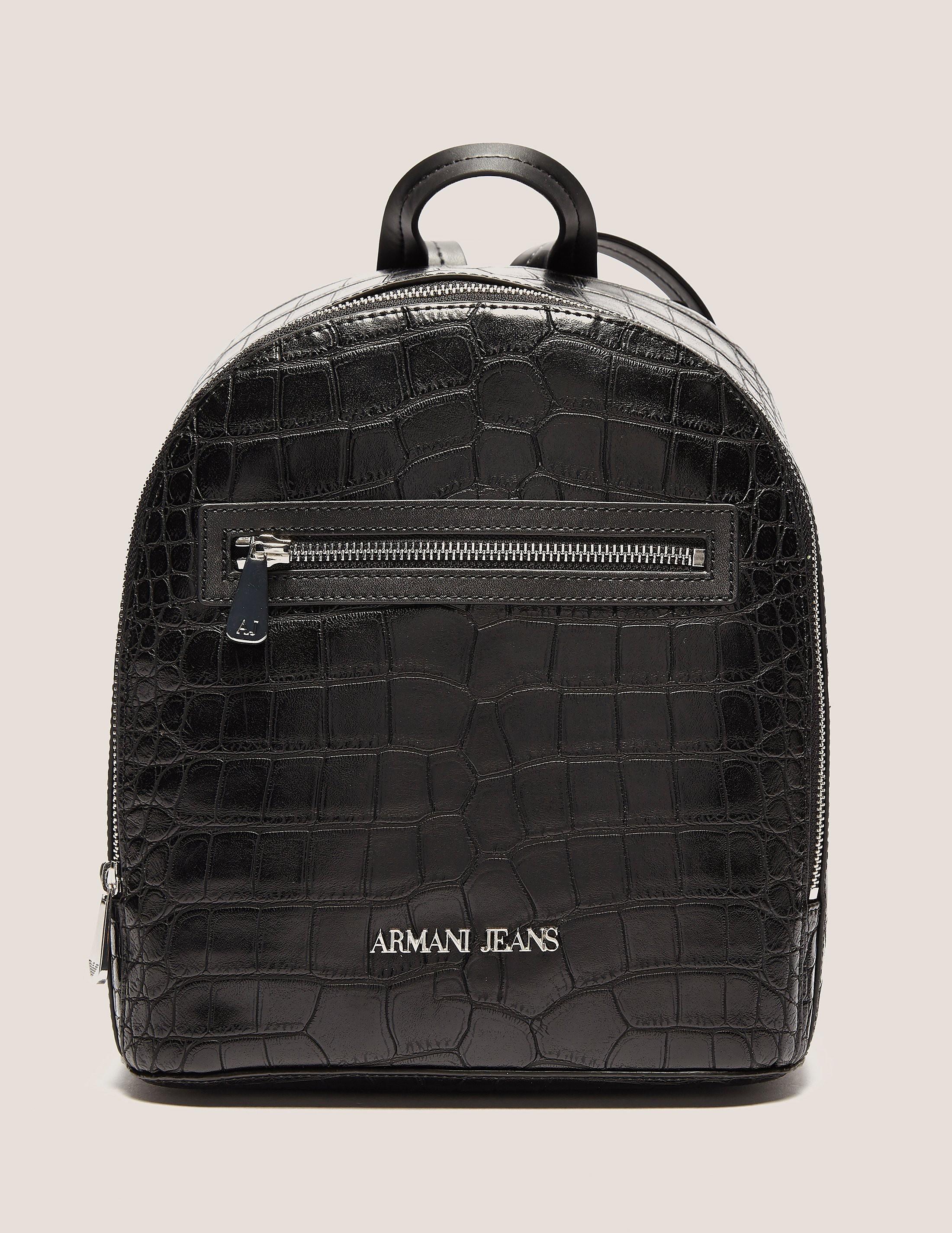 Armani Jeans Croc Back Pack