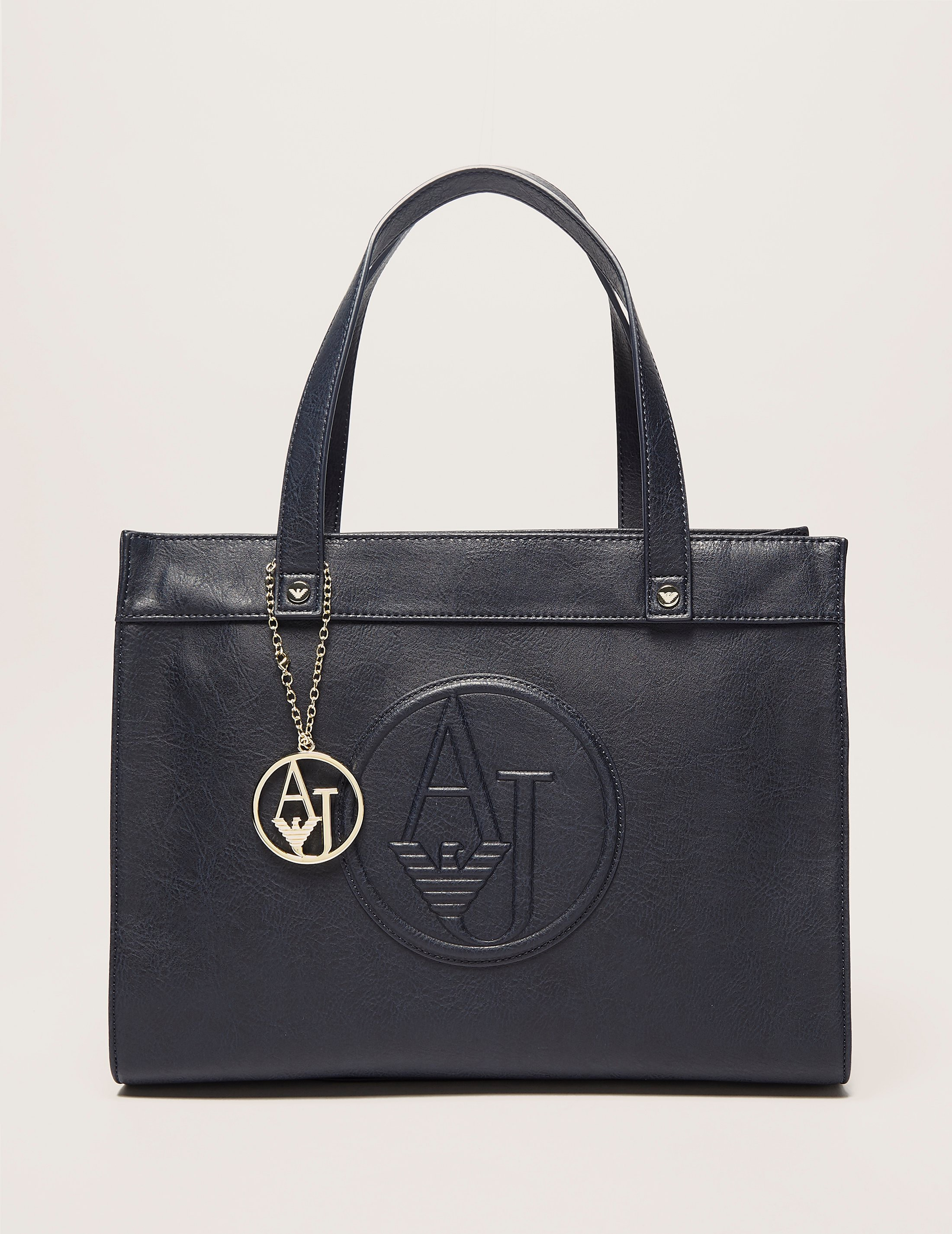 Armani Jeans Logo Medium Tote Bag
