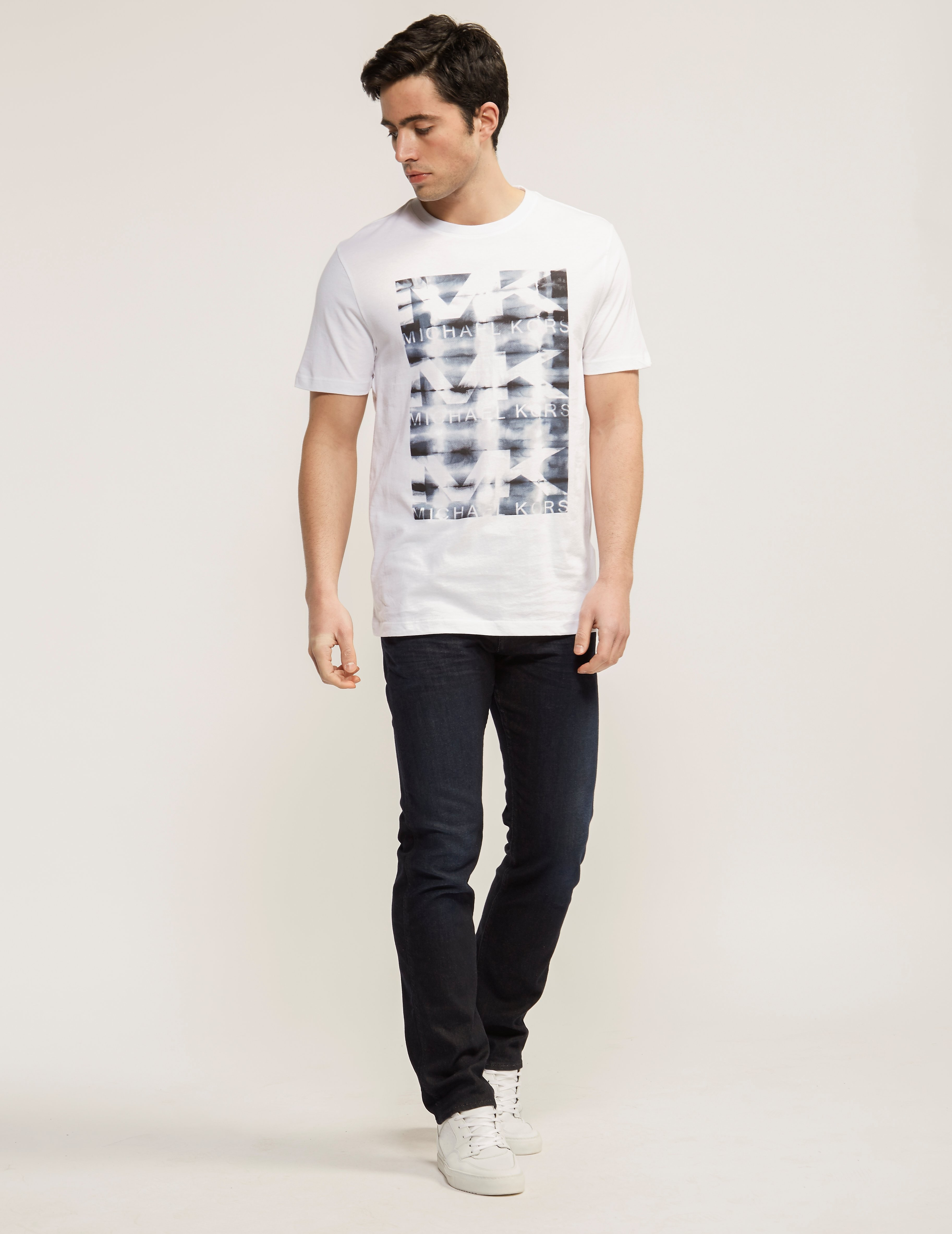 Michael Kors Ink Graphic T-shirt