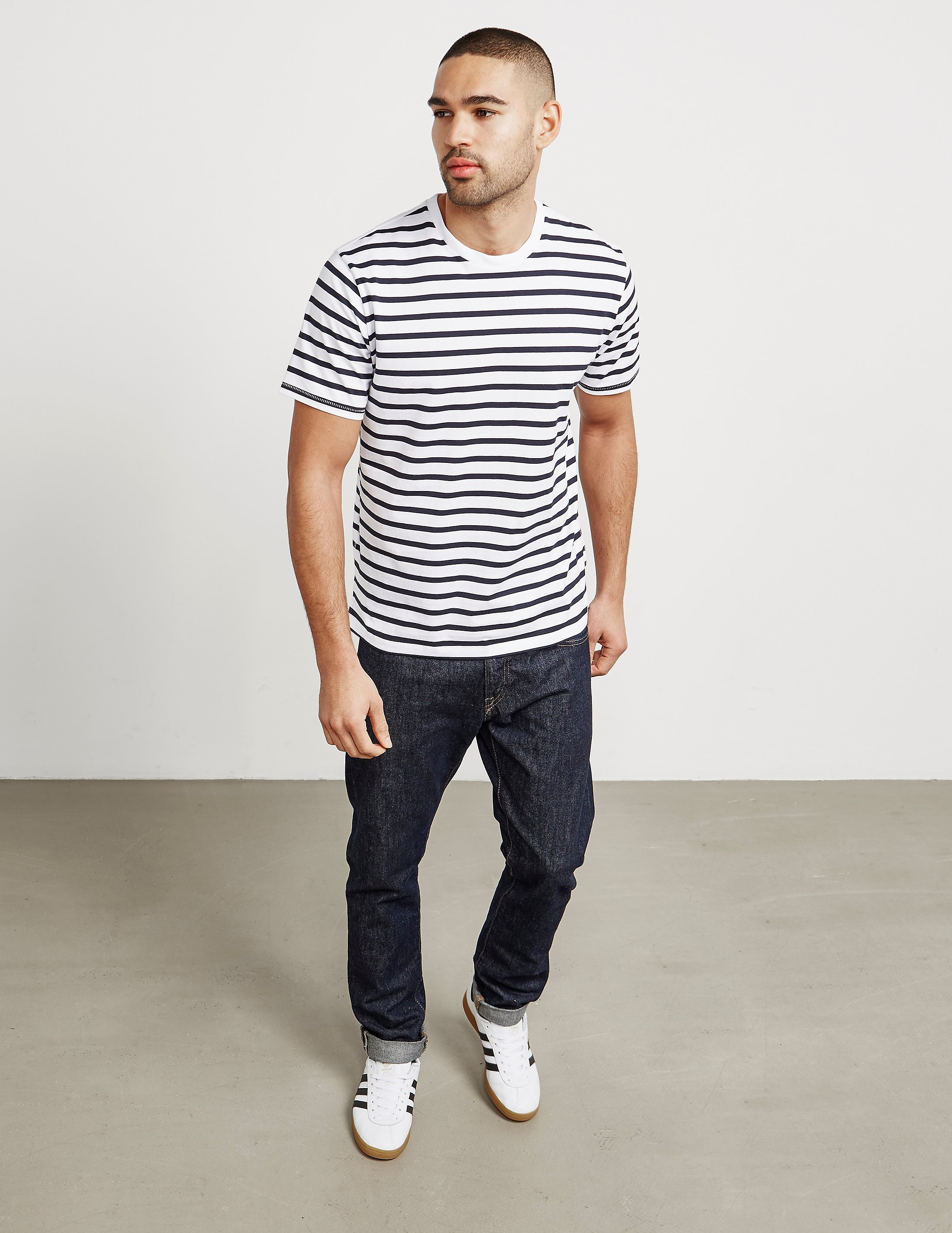 Rag & Bone Henry Stripe Short Sleeve T-Shirt