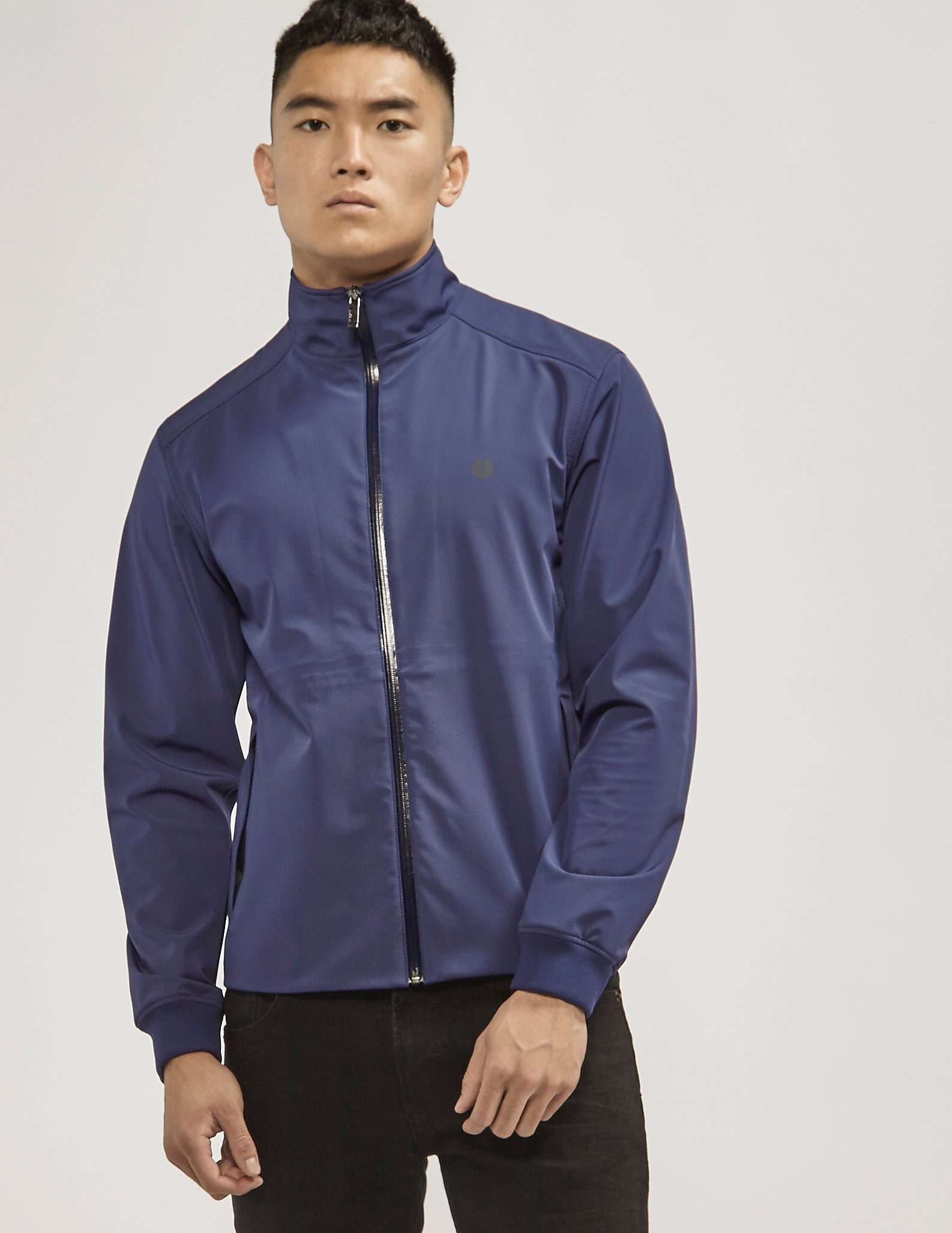 Z Zegna Softshell Zip Up Jacket