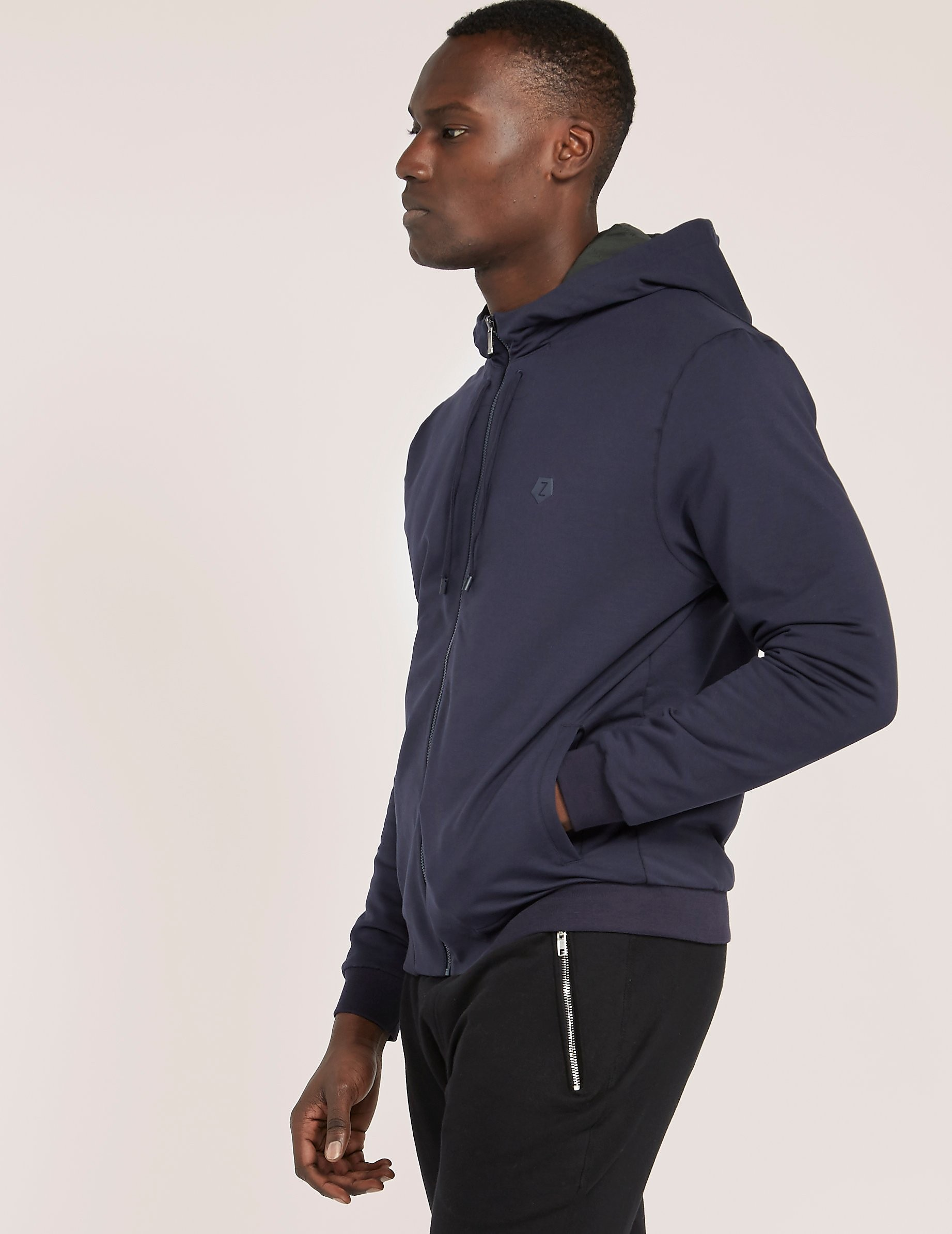 Z Zegna Hooded Track Top