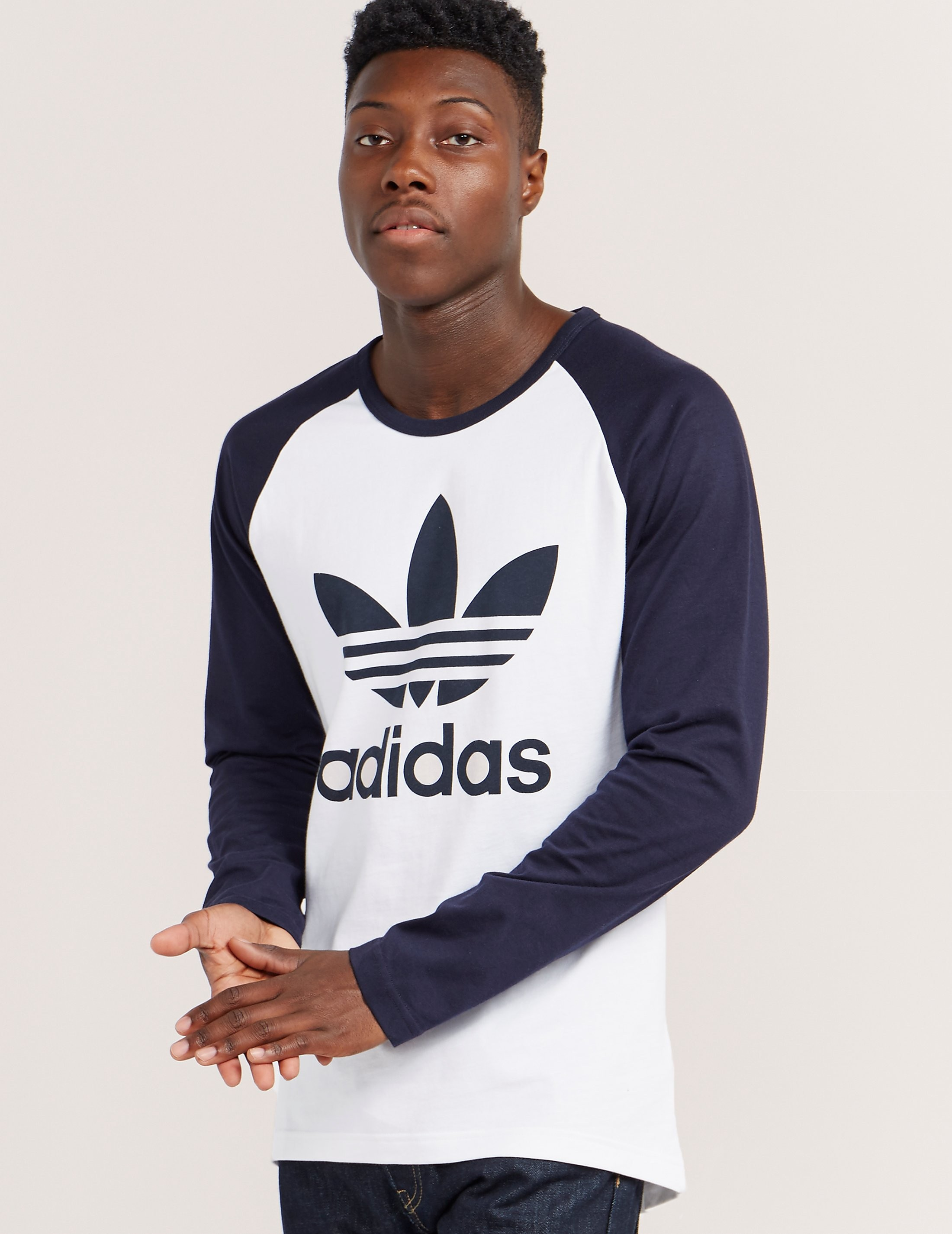 adidas Originals Long-Sleeved Trefoil T-Shirt