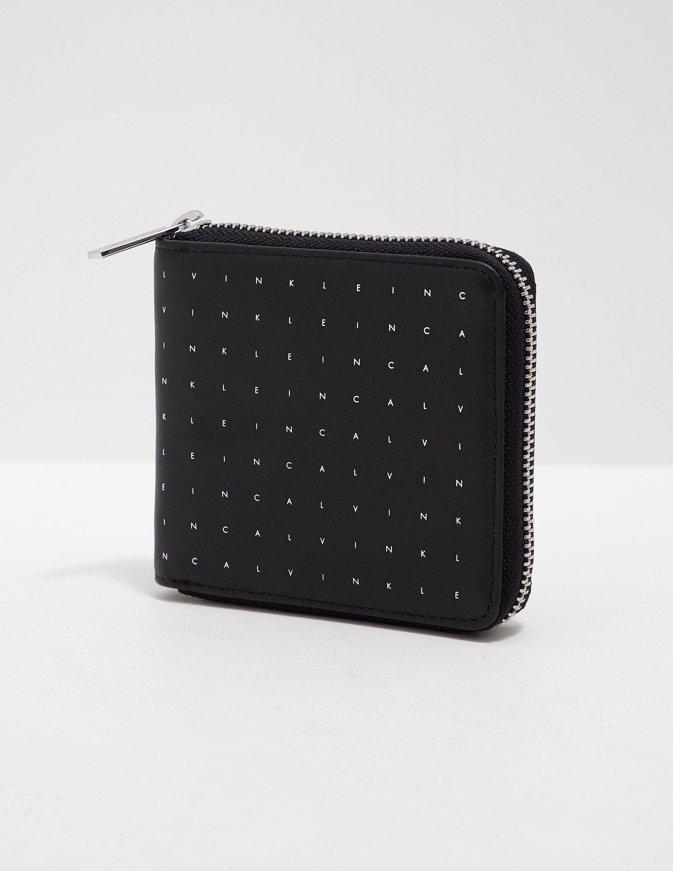 Calvin Klein Grid Zip Wallet