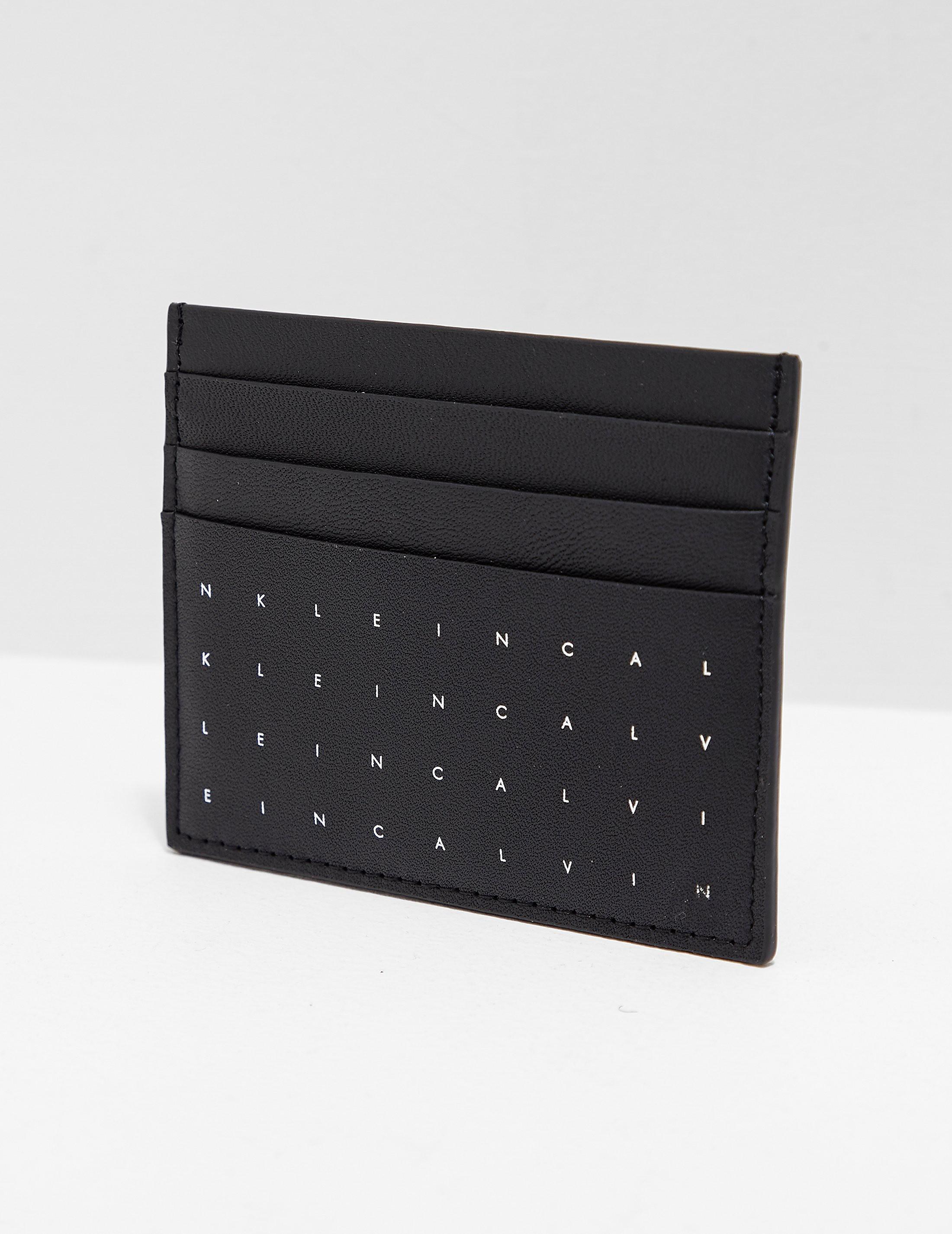 Calvin Klein Grid Card Holder