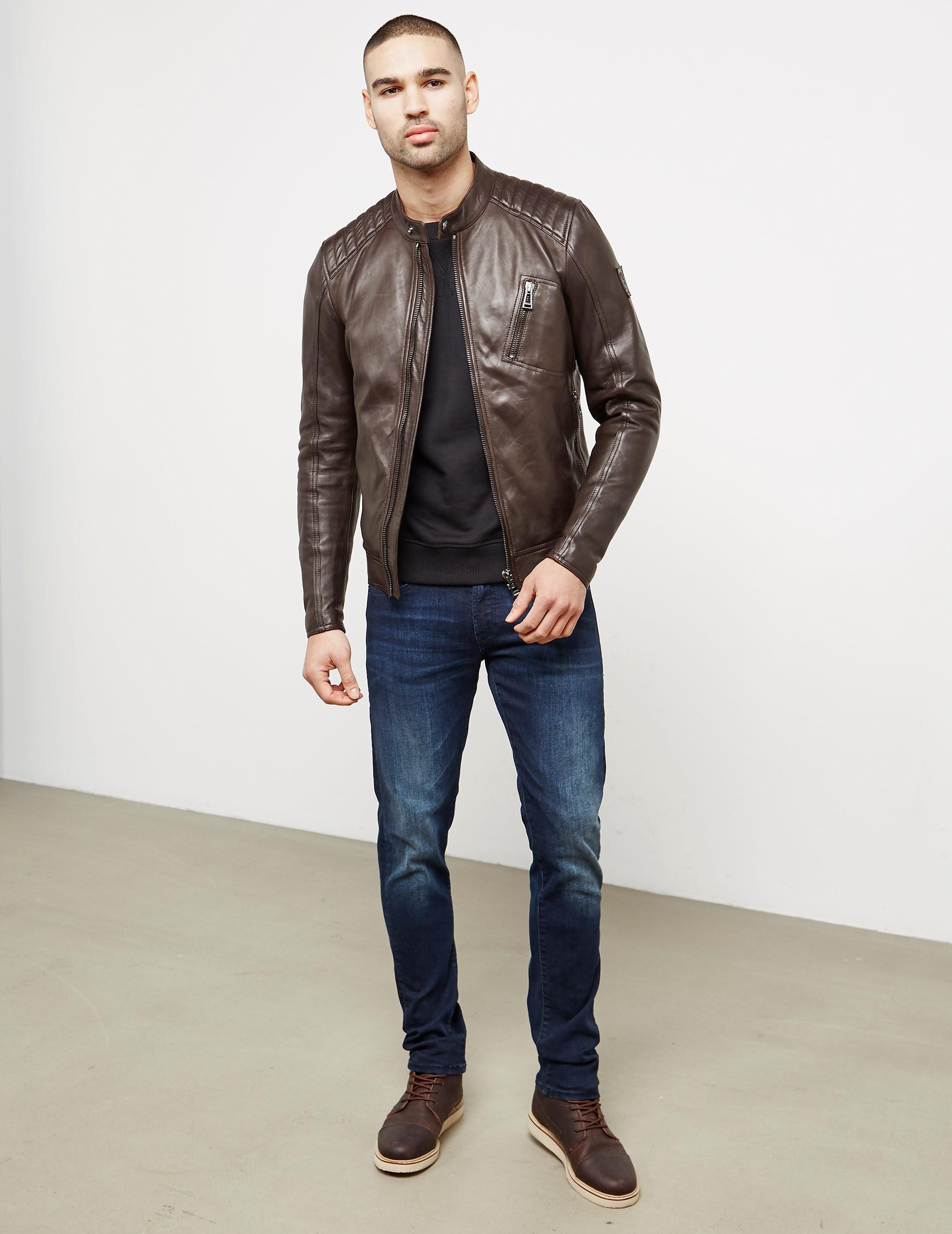 Belstaff V-Racer Leather Jacket