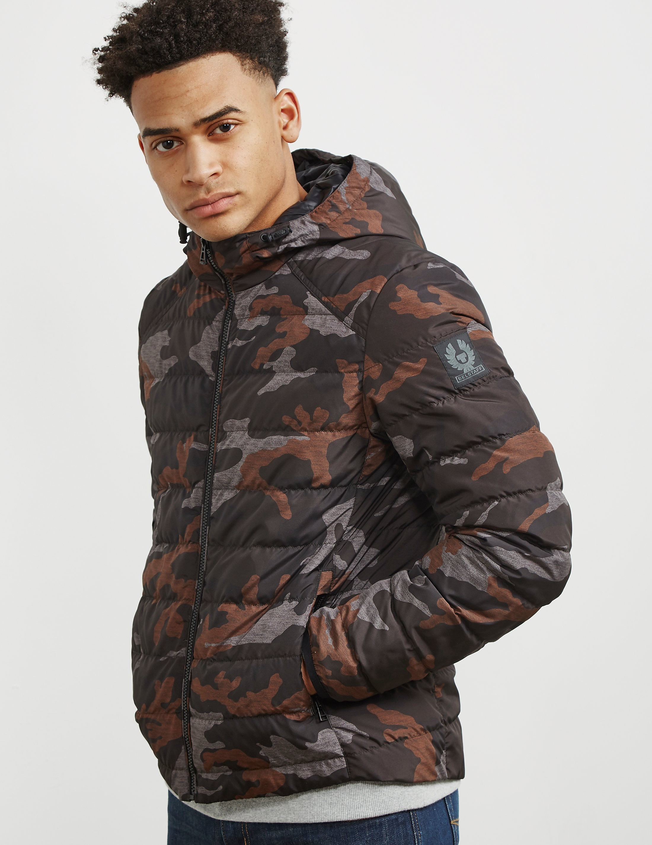 Belstaff Hooded Camo Jacket