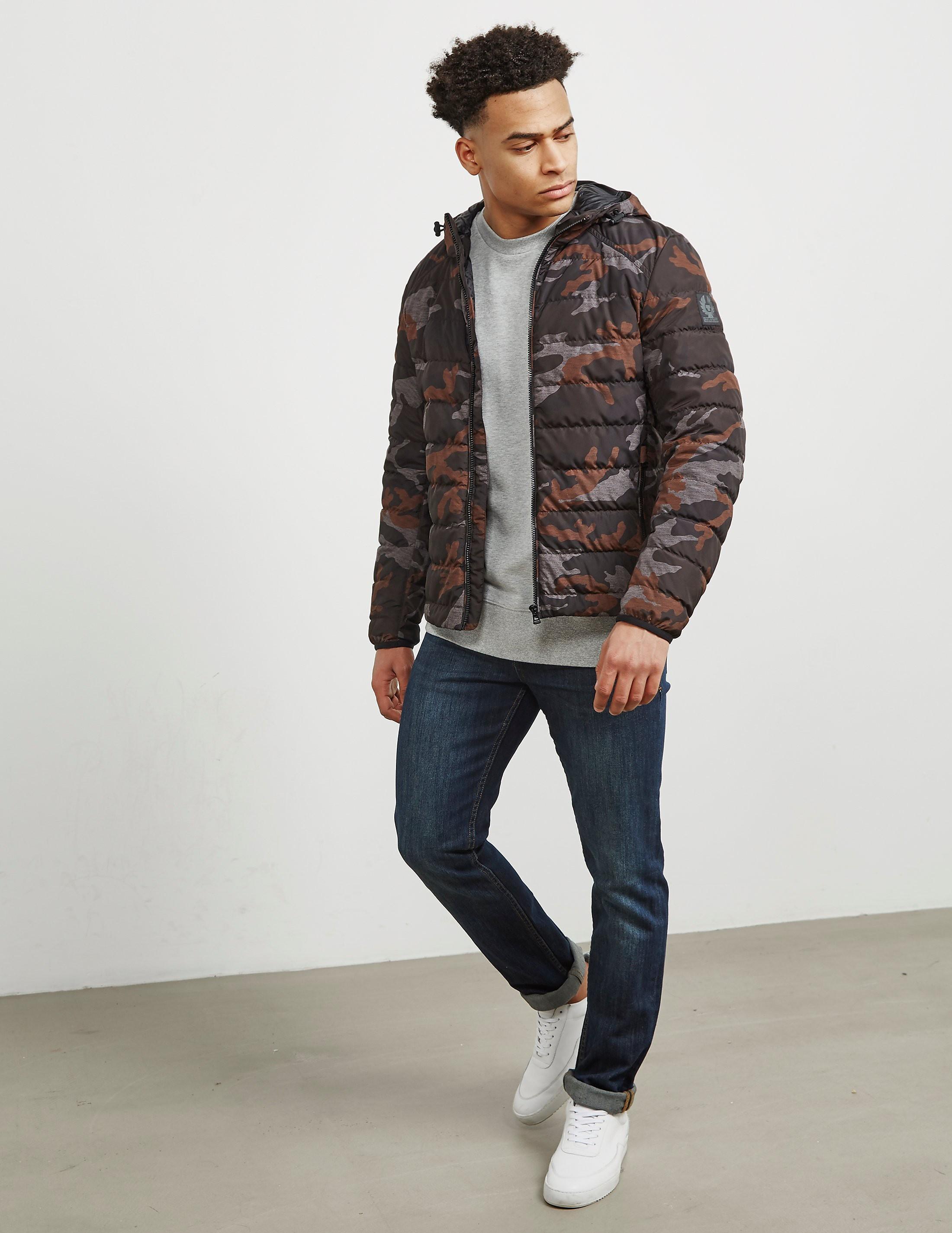Belstaff Hooded Camo Jacket