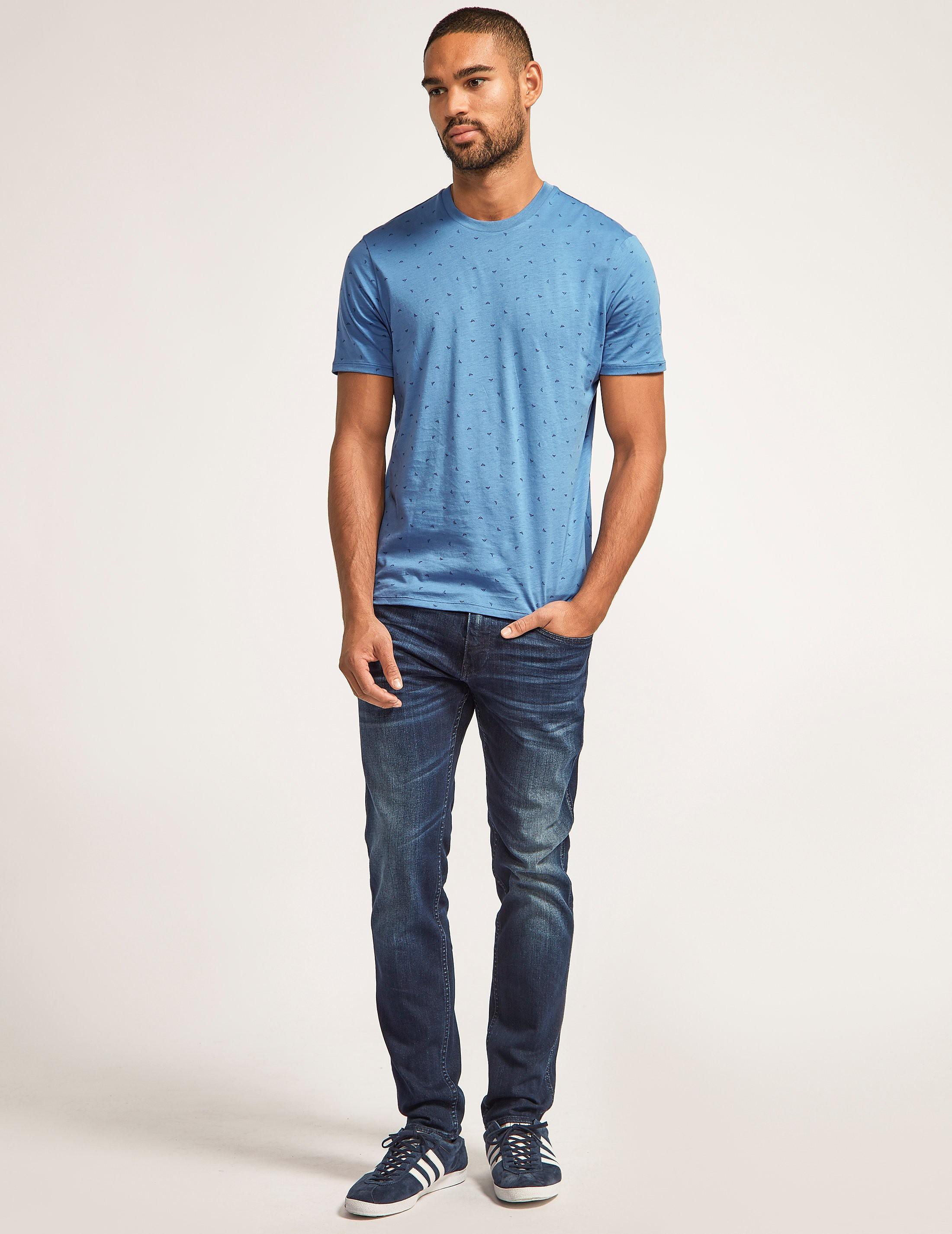 Armani Jeans Mini Eagle Logo T-Shirt