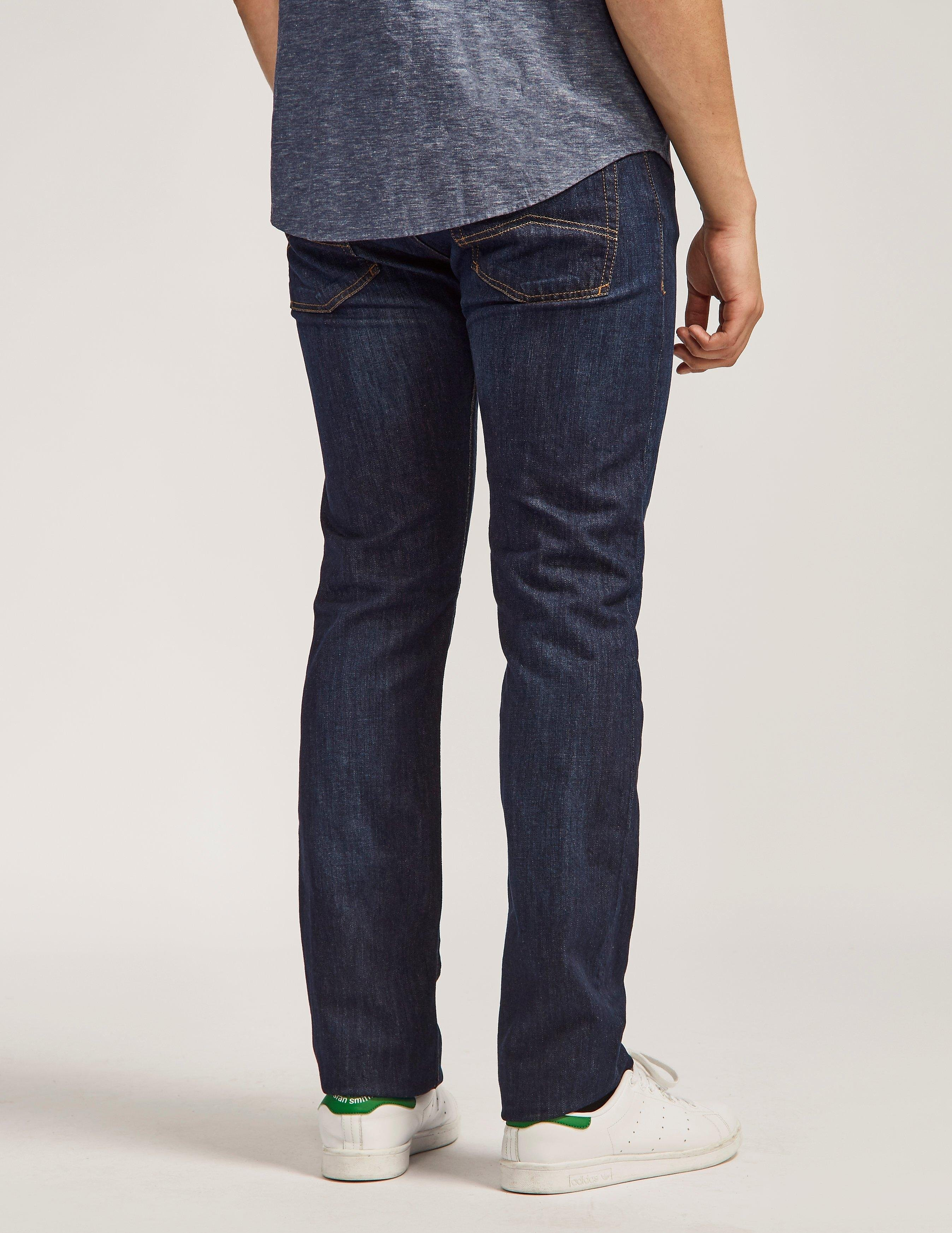 Armani Jeans J45 Regular Tapered Jean - Long