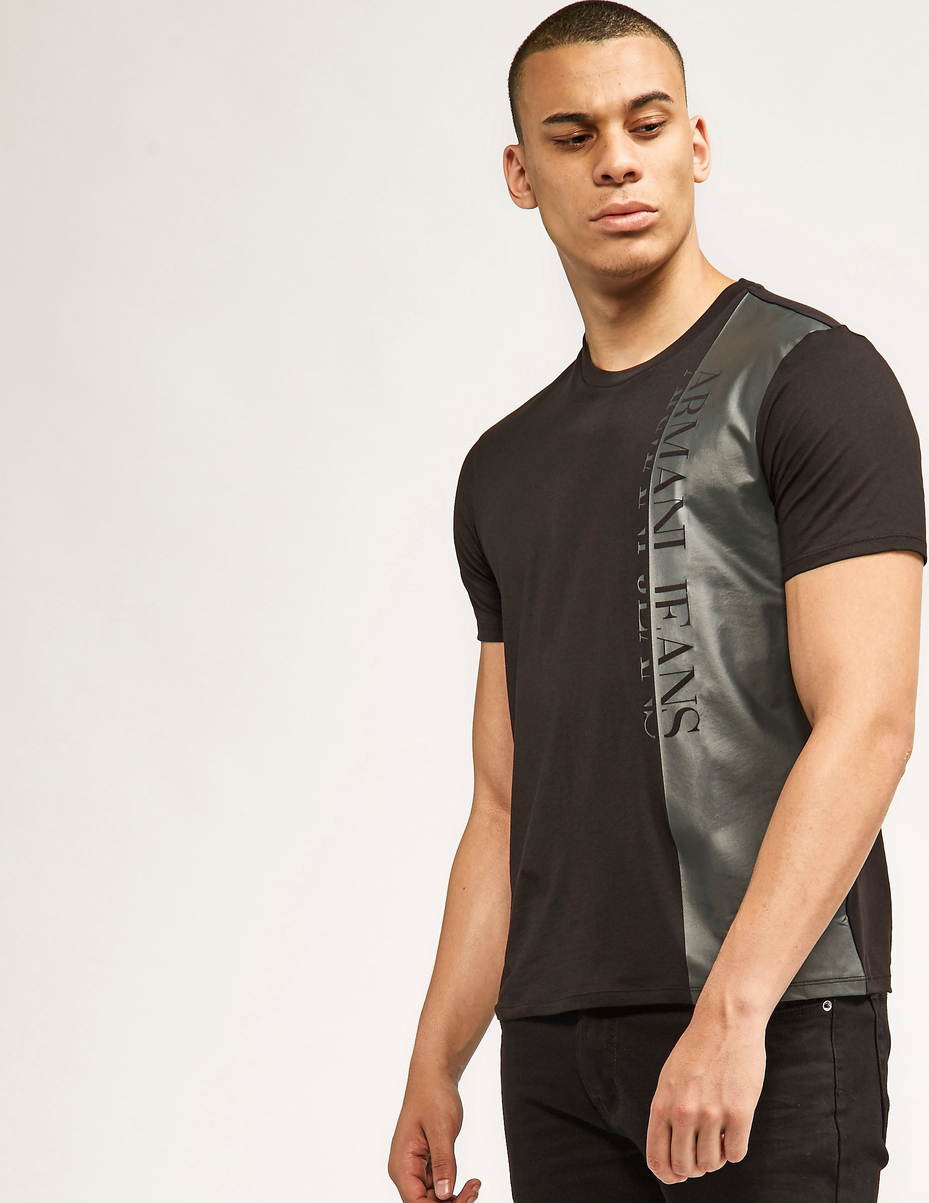 Armani Jeans Side Block T-Shirt