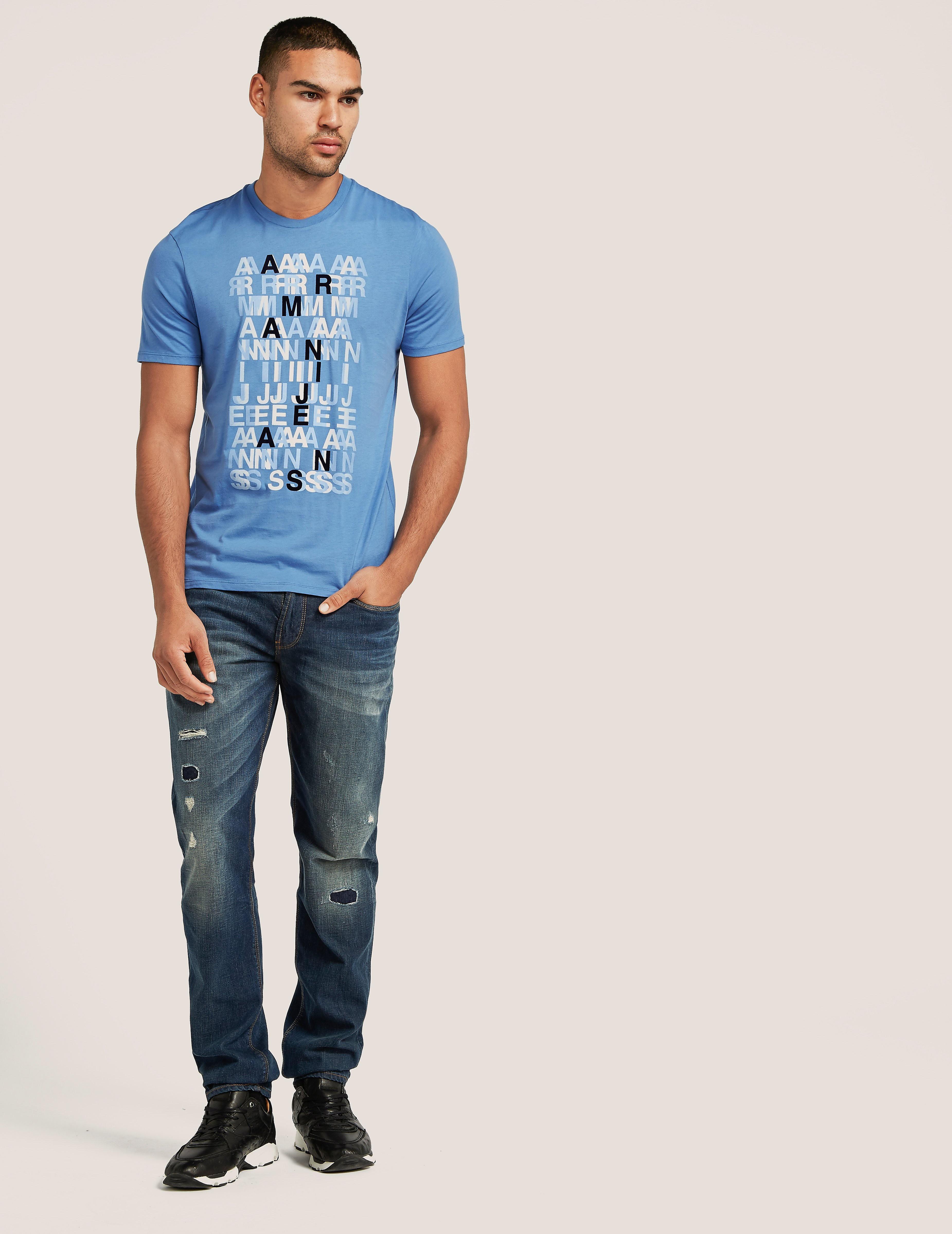 Armani Jeans Letter T-Shirt