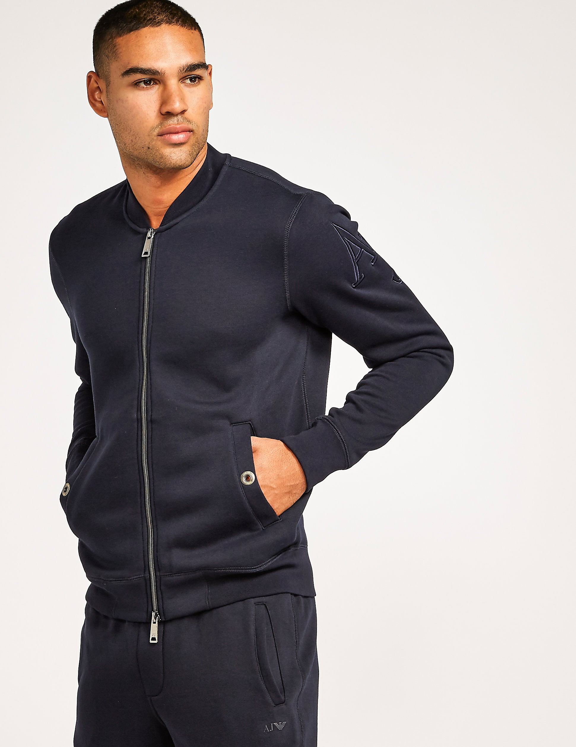 Armani Jeans Eagle Cotton Bomber