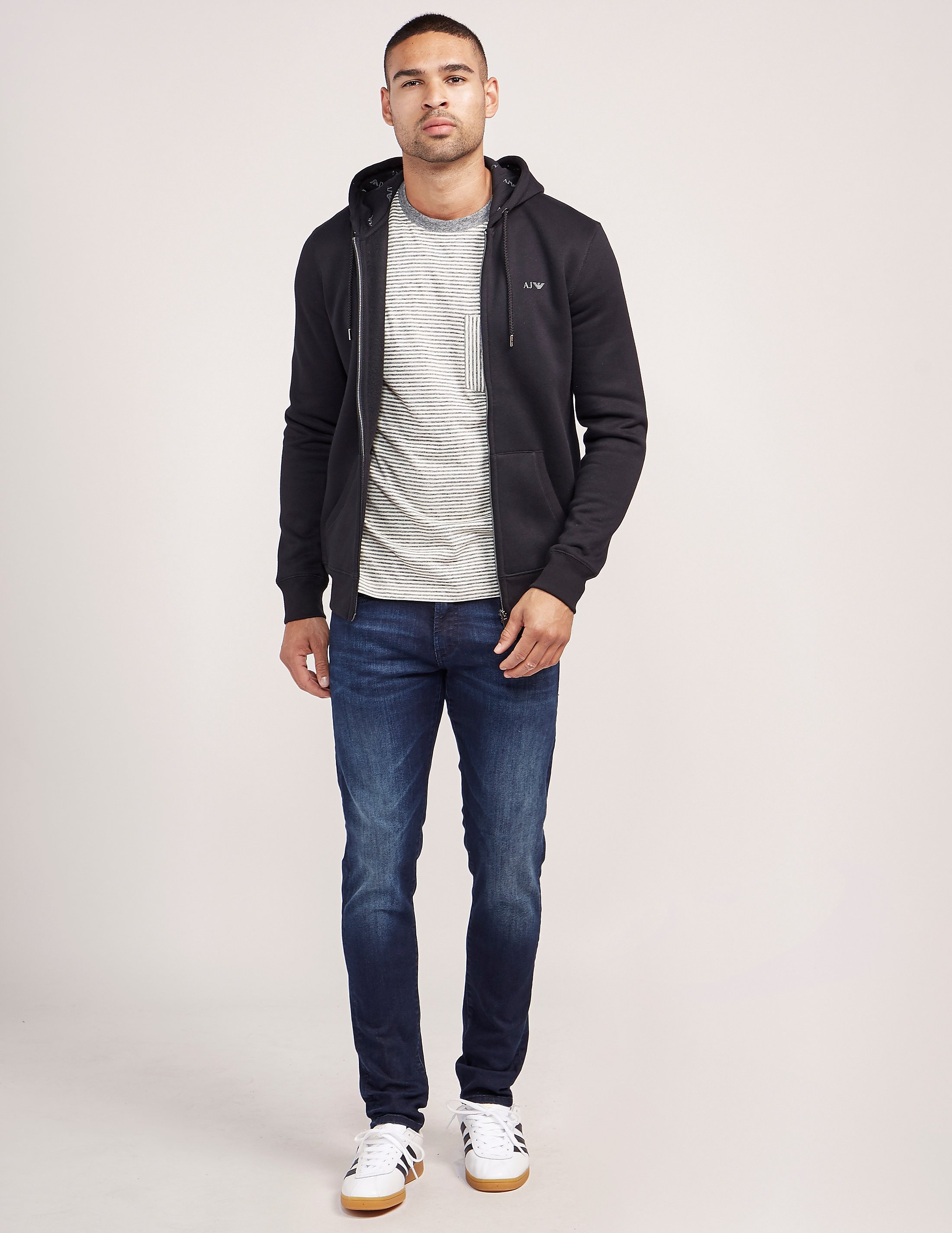 Armani Jeans RF Zip Up Track Top - Exclusive