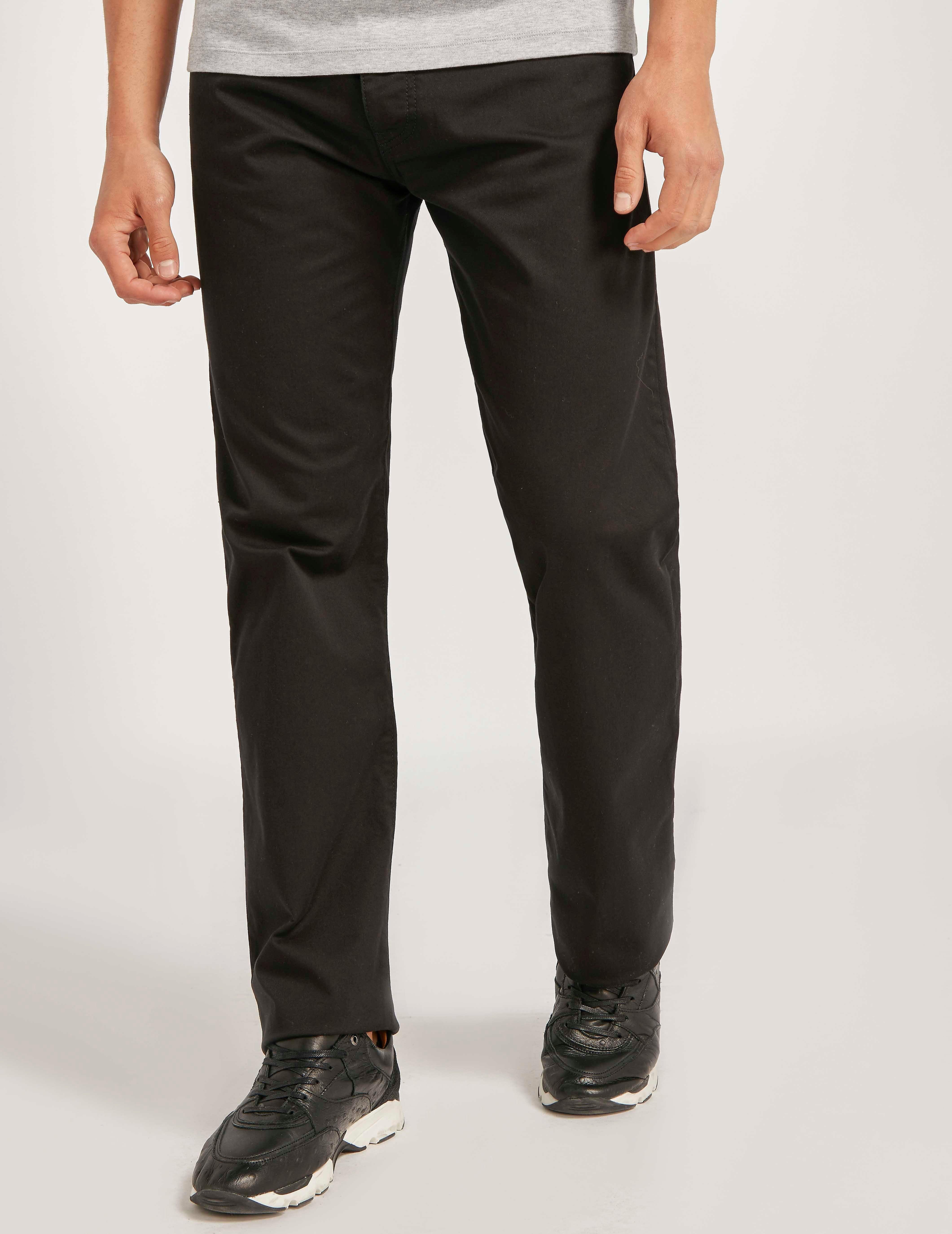 Armani Jeans J21 Gaberdine Jean - Long length