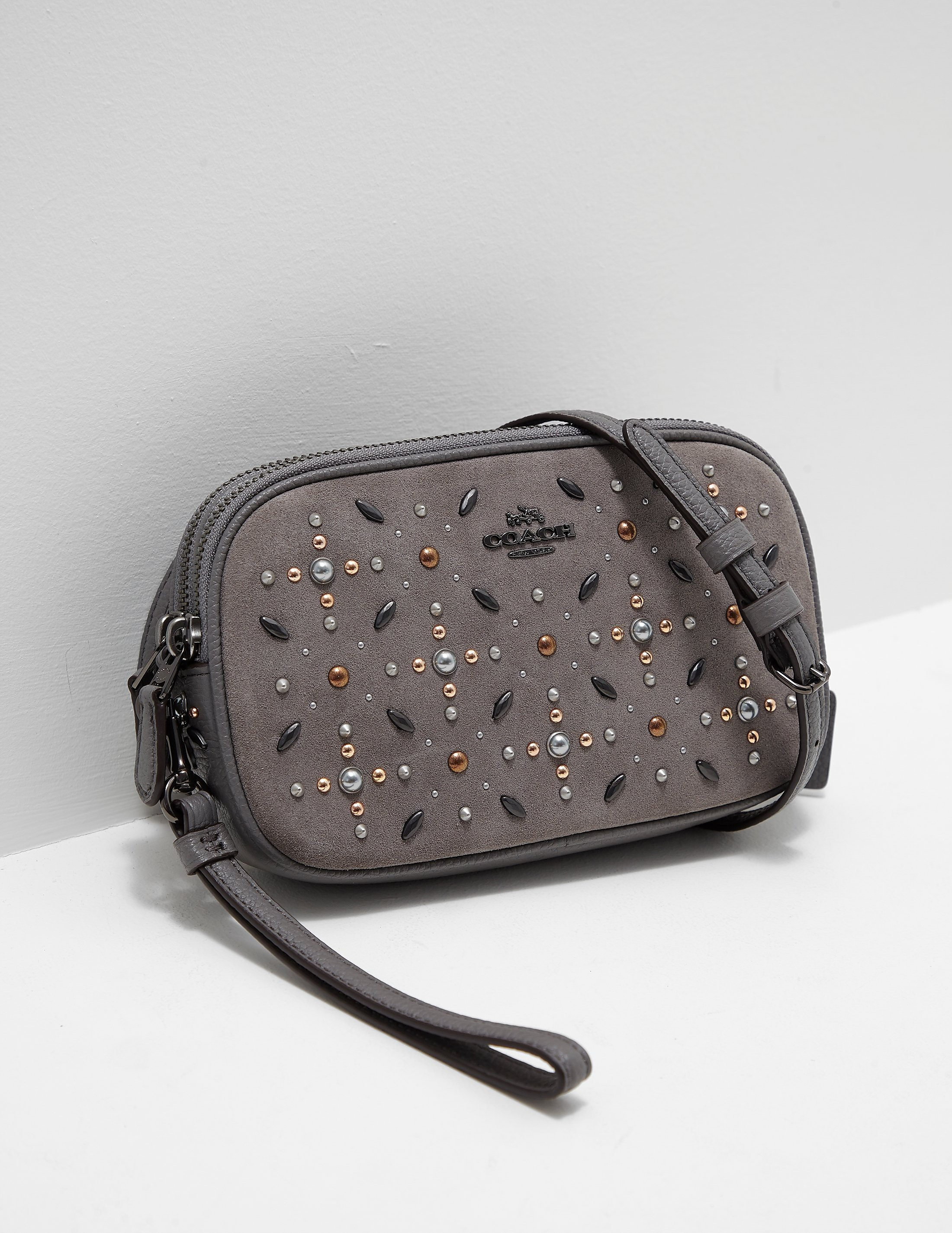 COACH Embellished Crossbody Bag