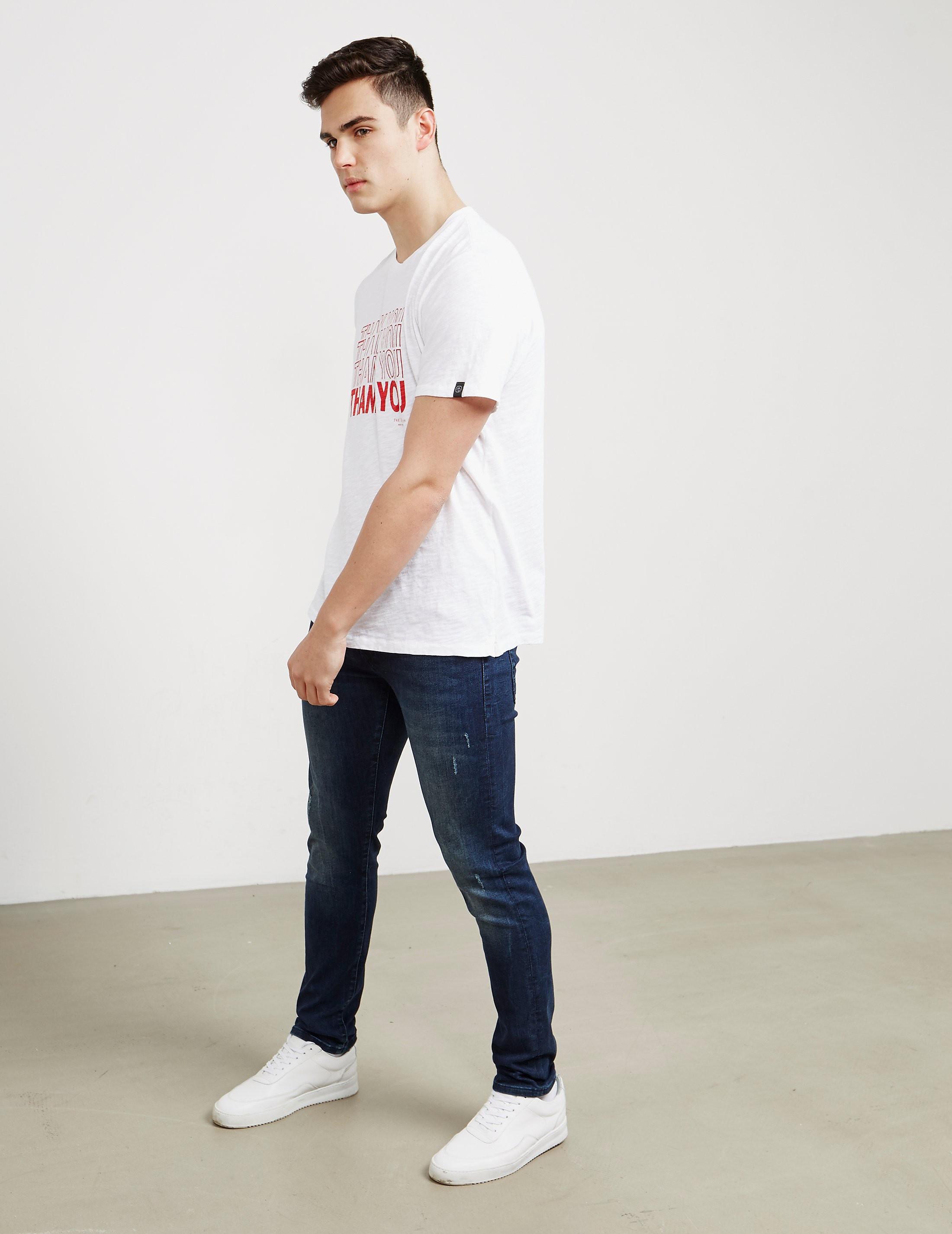 Rag & Bone Thankyou Short Sleeve T-Shirt