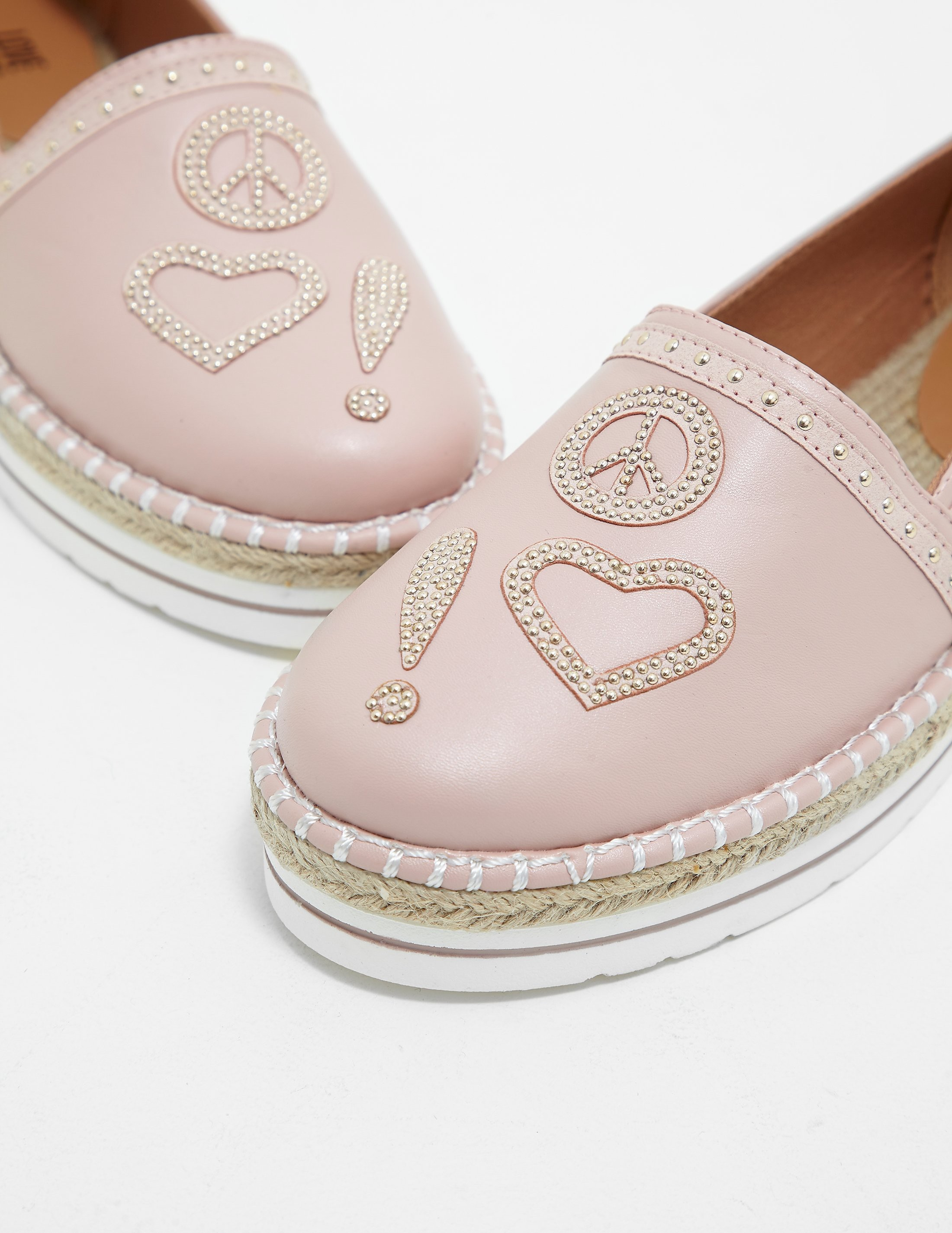 Love Moschino Studded Espadrille