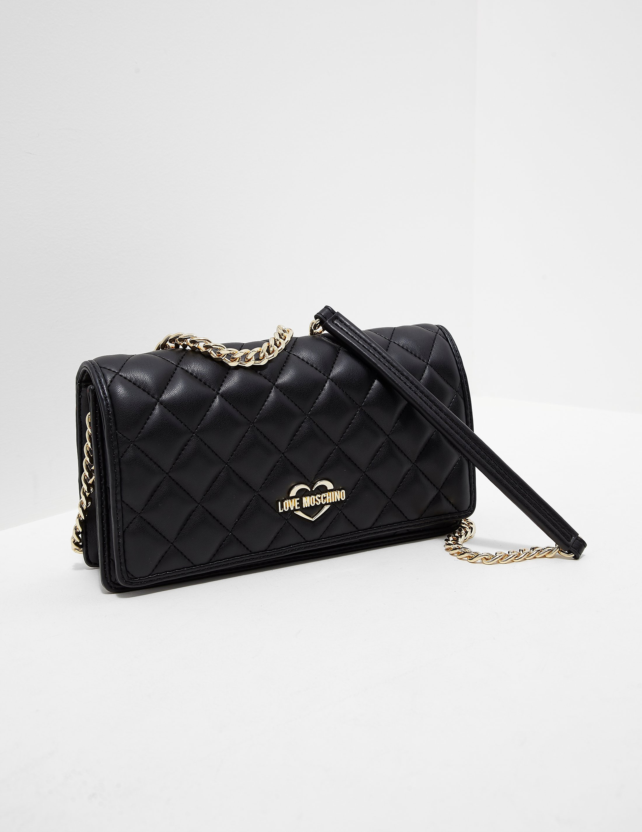 Love Moschino Small Quilted Clutch
