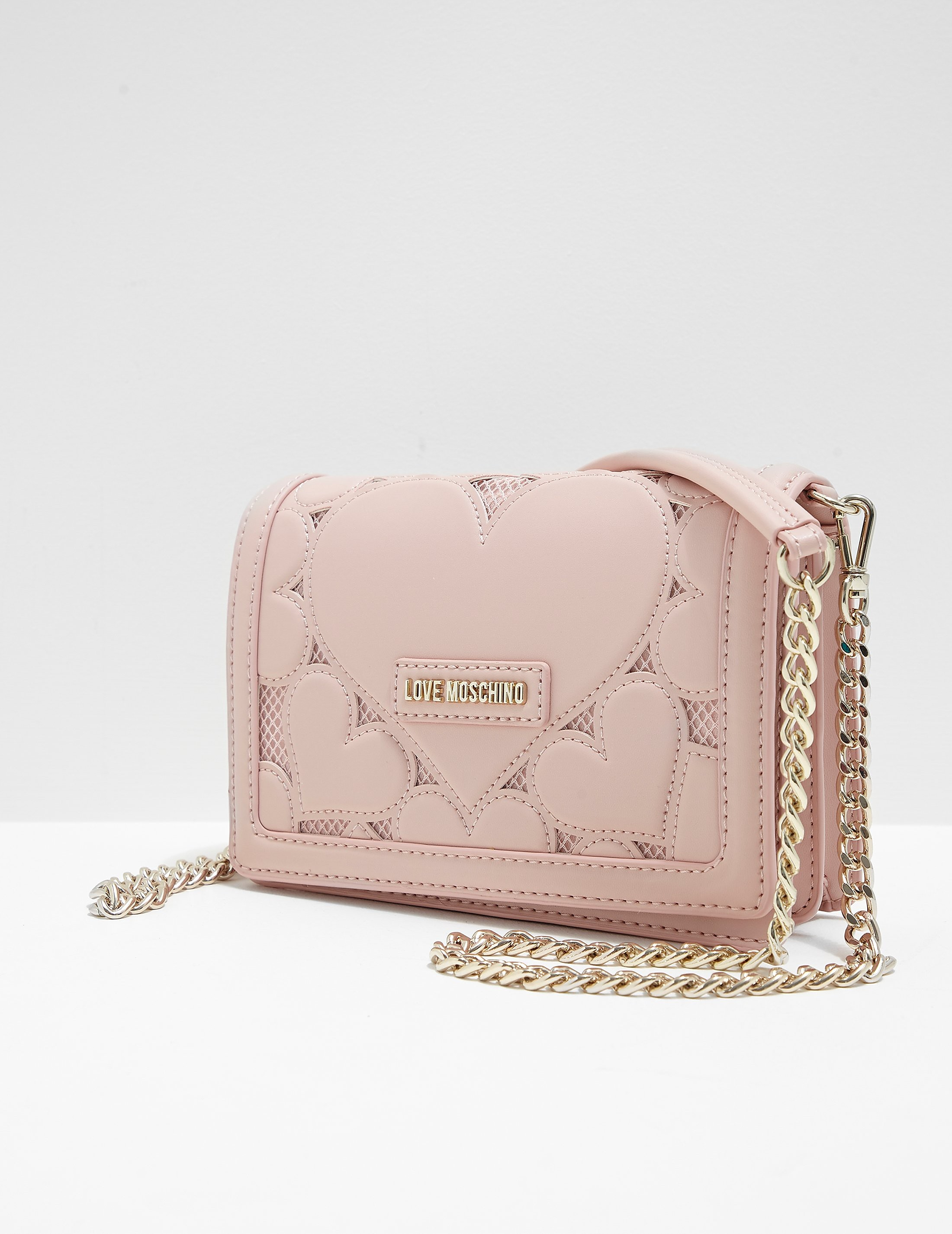 Love Moschino Heart Quilted Shoulder Bag