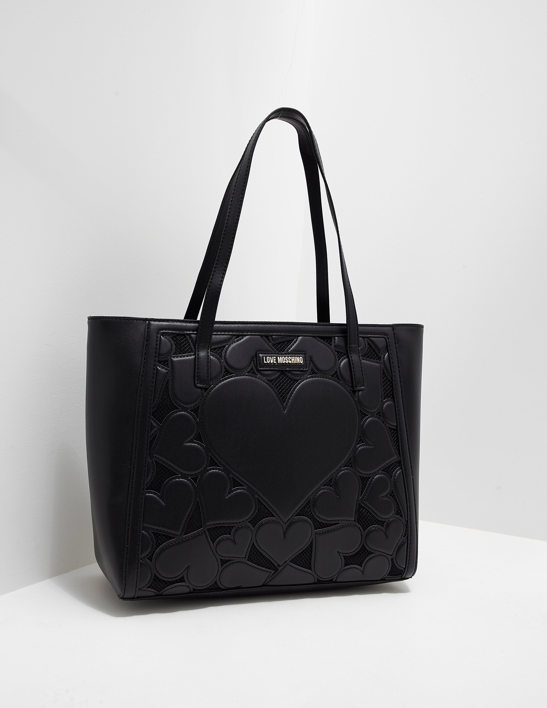 Love Moschino Heart Quilted Shopper Bag