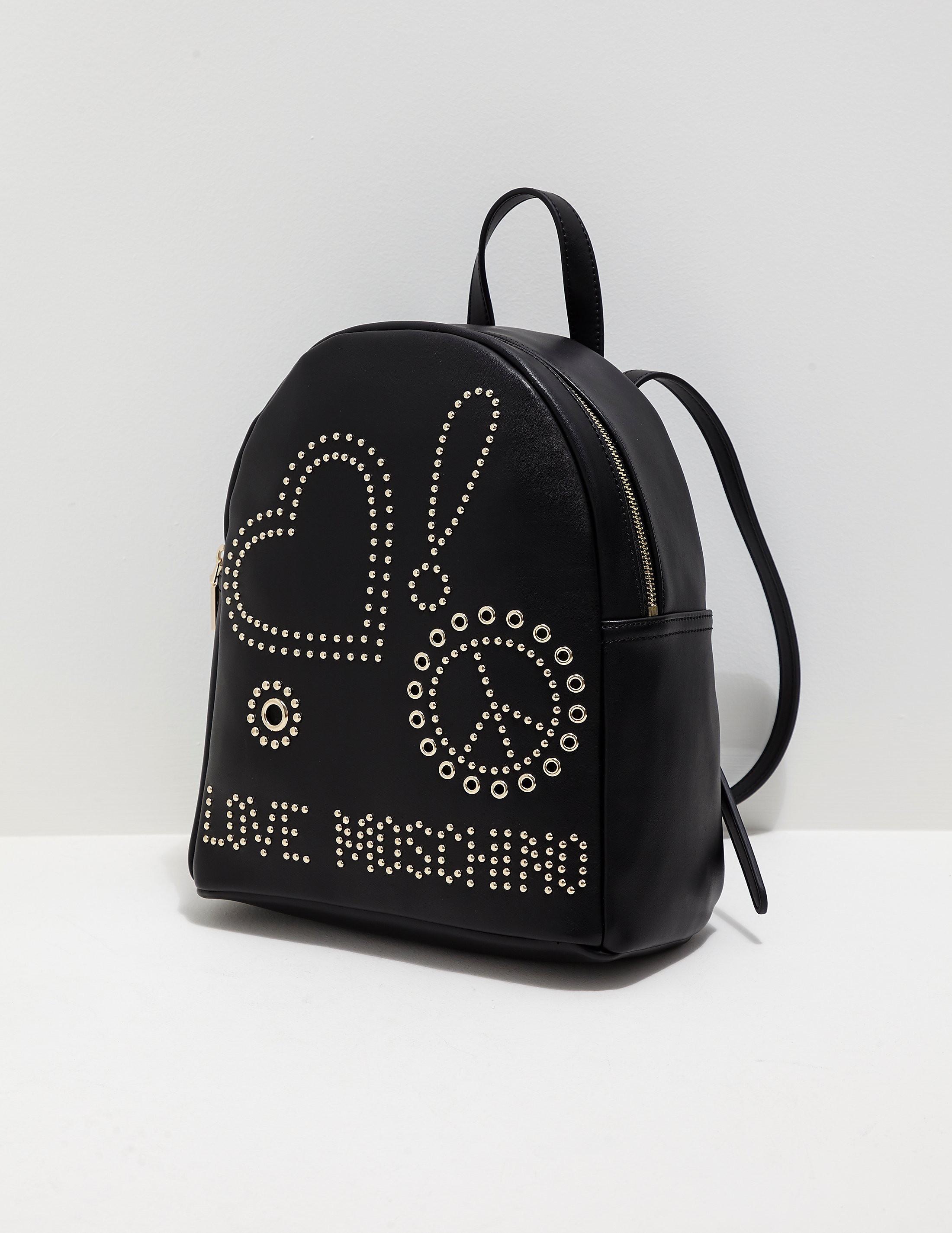 Love Moschino Stud Backpack