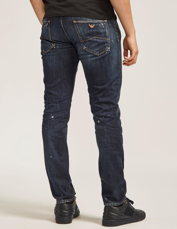 Armani Jeans J06 Paint Jeans