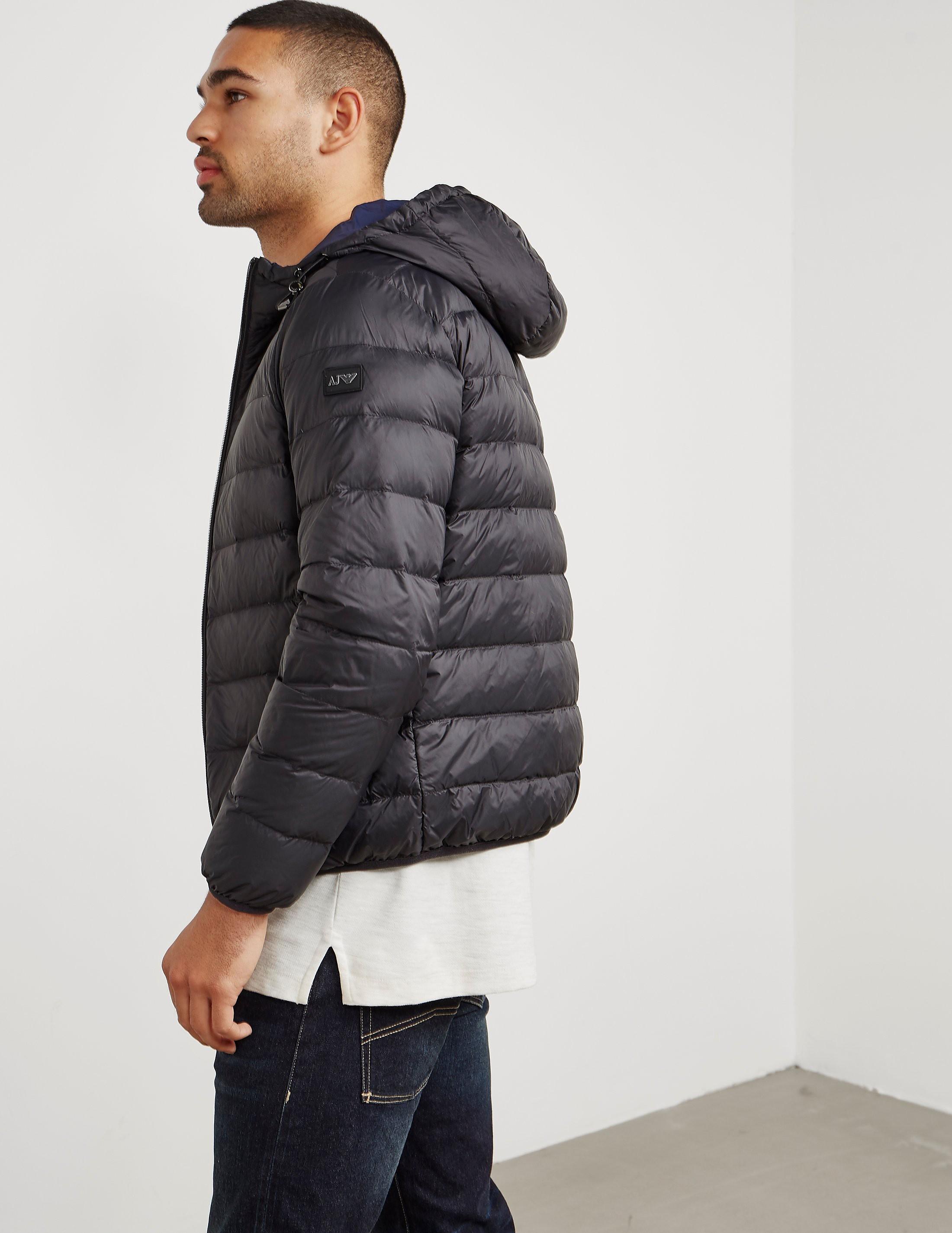 Armani Jeans Padded Reversible Bubble Jacket