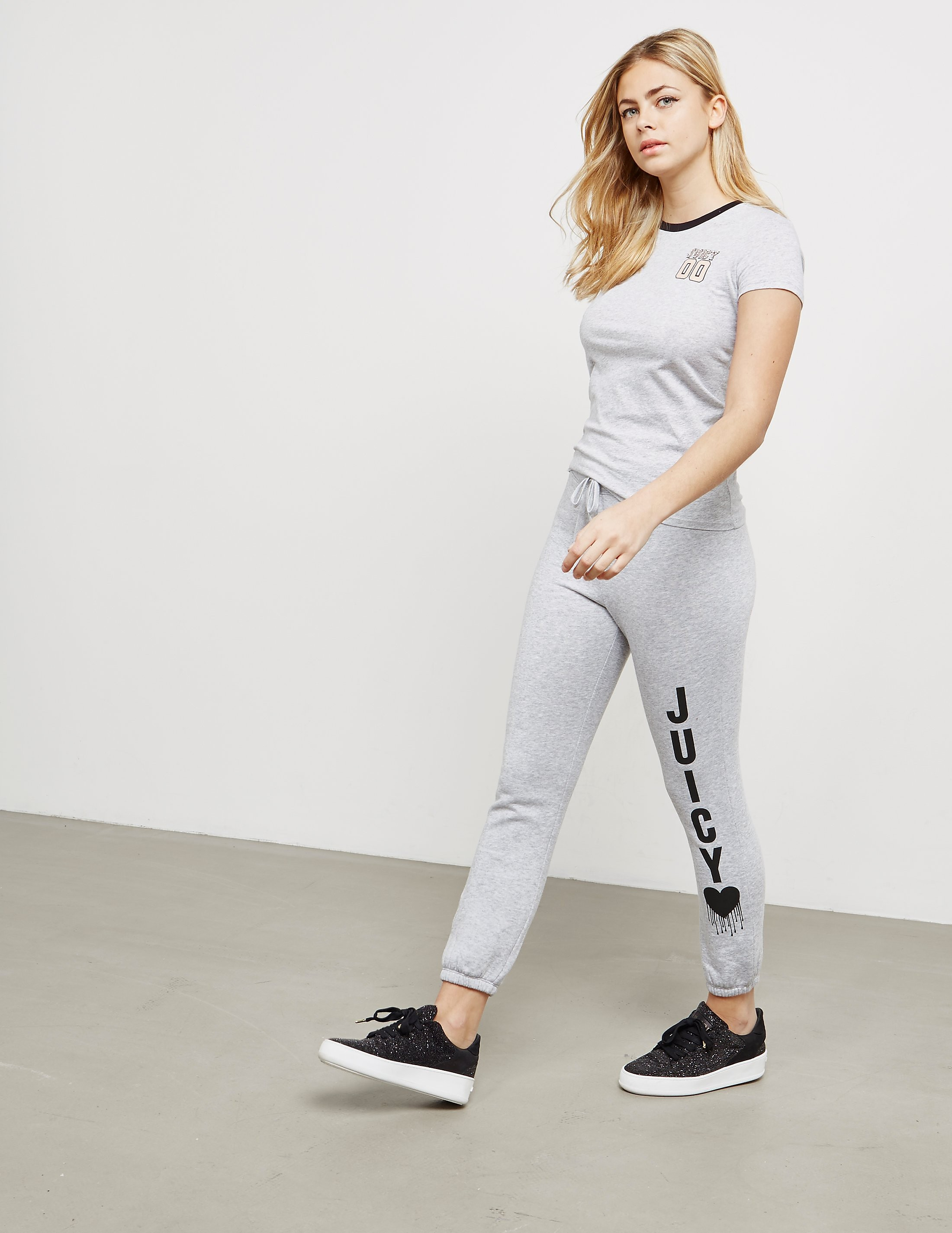 Juicy Couture Heart Cuffed Joggers