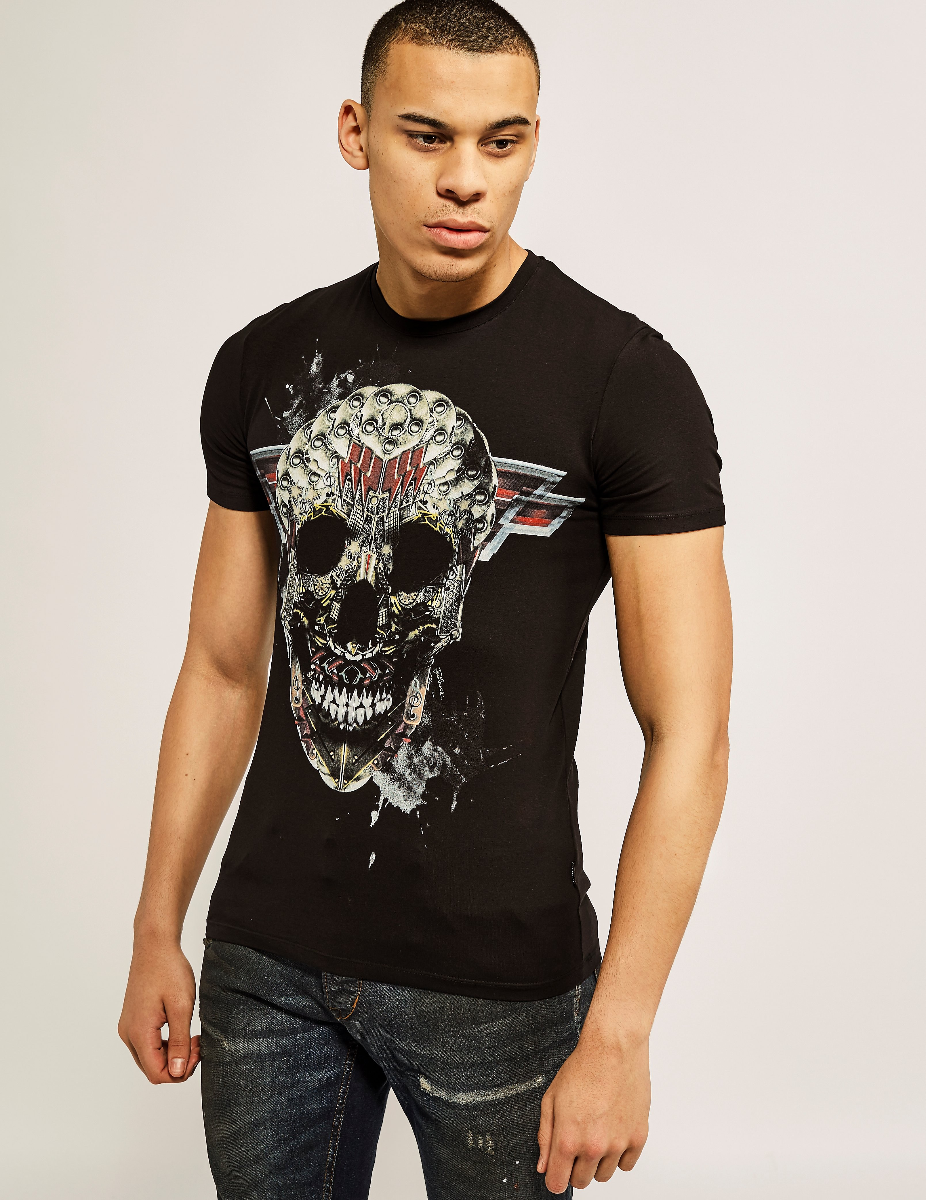 Just Cavalli Rock Skull T-Shirt
