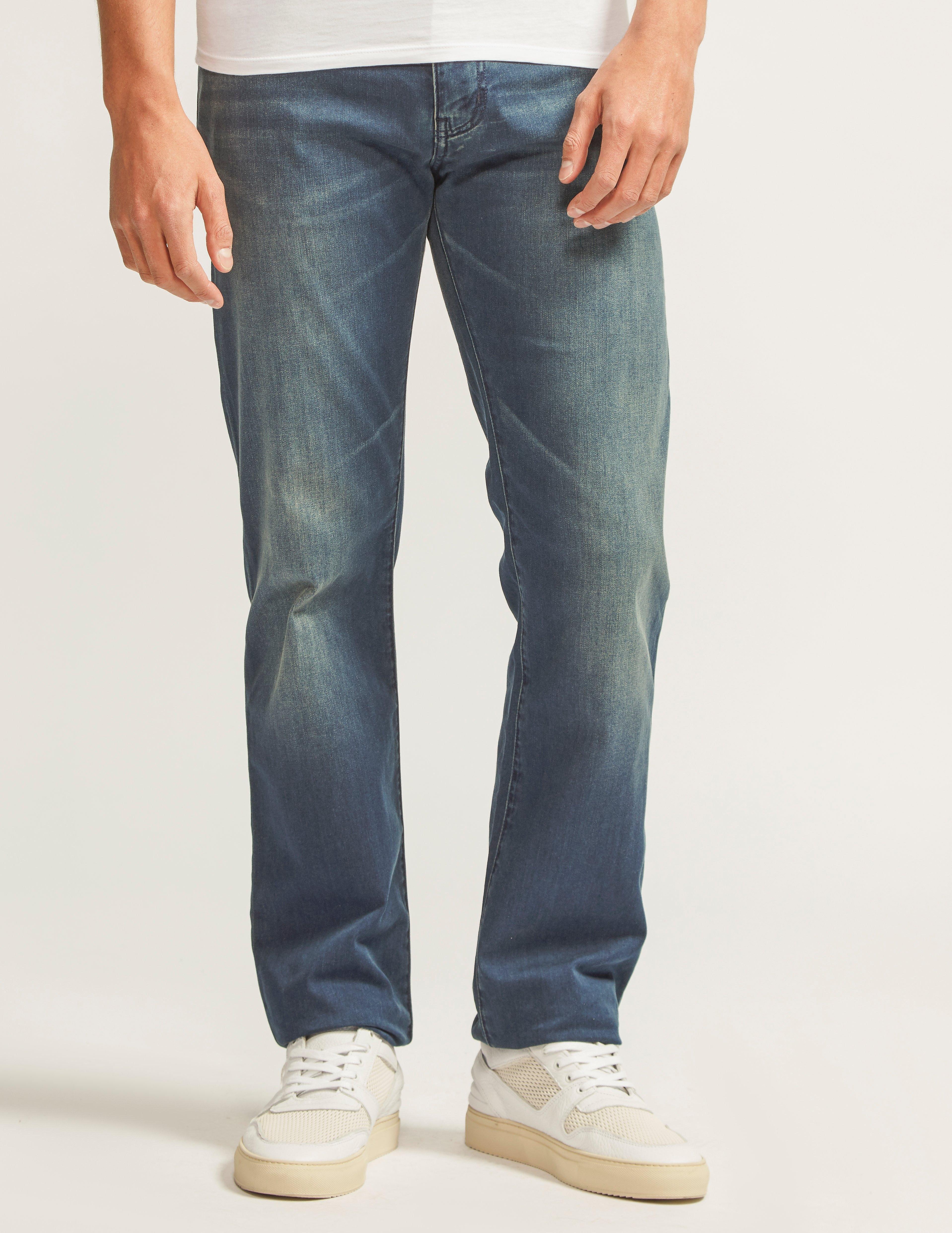 Armani Jeans J45 Slim Fit Jeans - Long