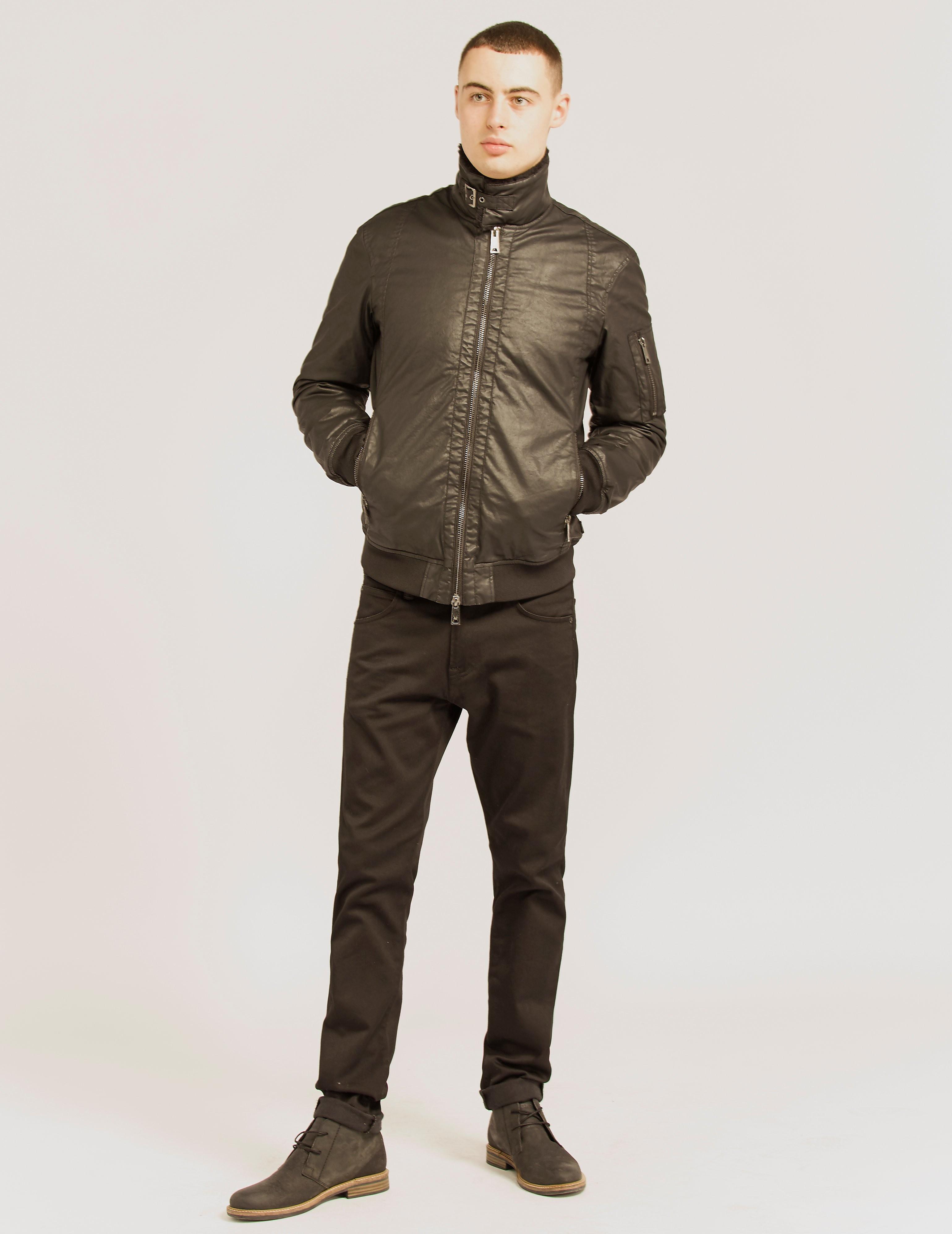 Armani Jeans Shearl Collar Jacket
