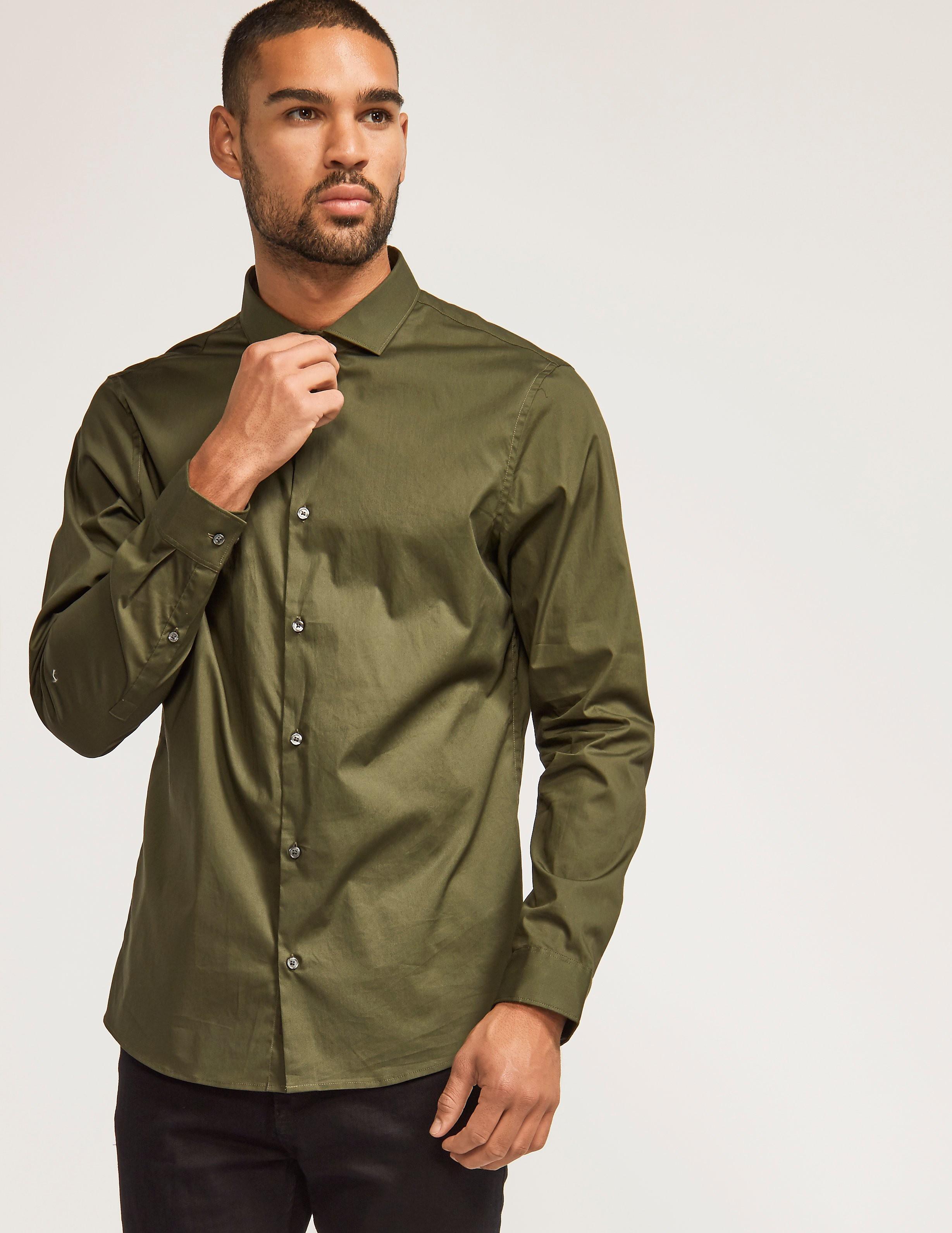 Michael Kors Slim Fit Stretch Shirt