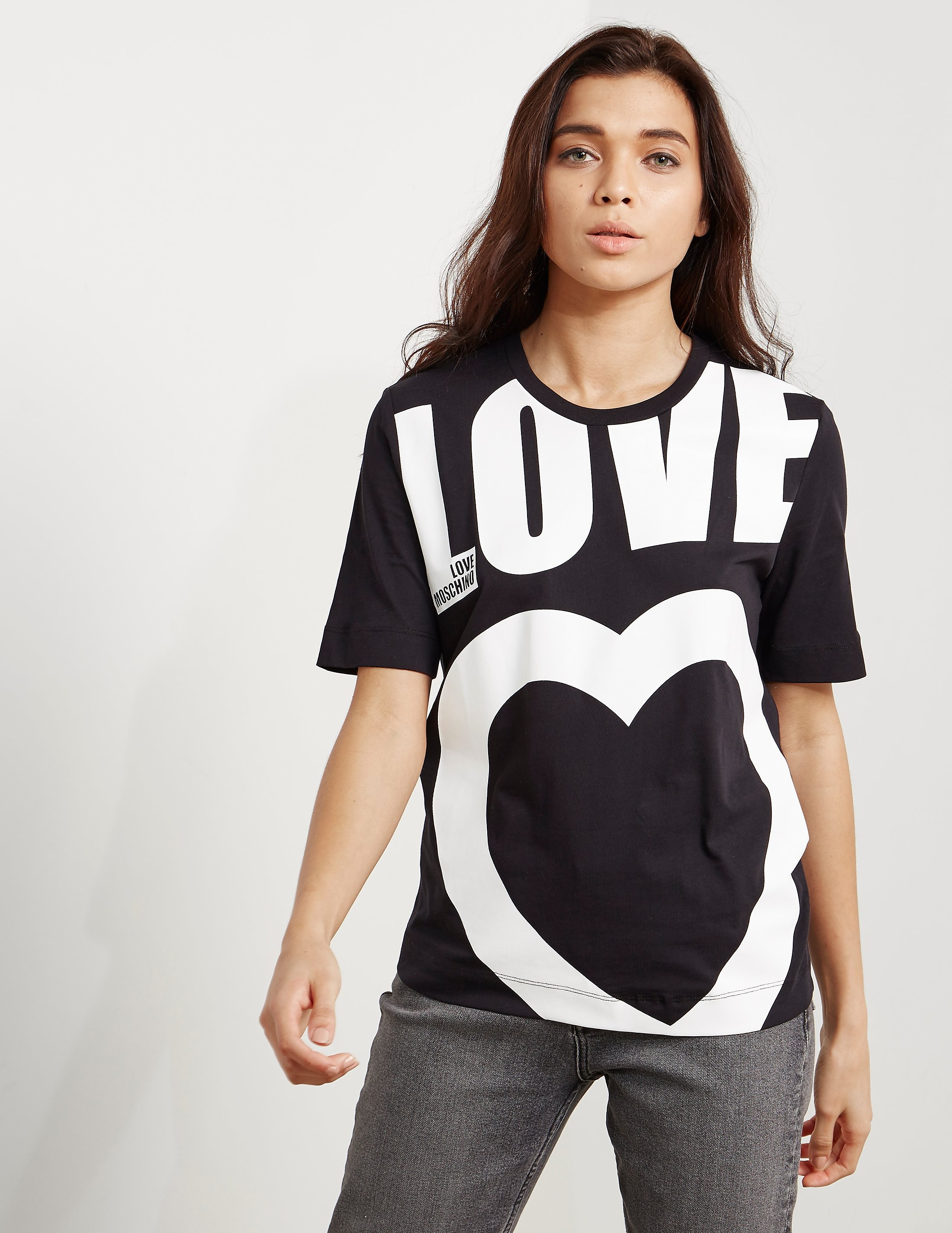 Love Moschino Love Short Sleeve T-Shirt