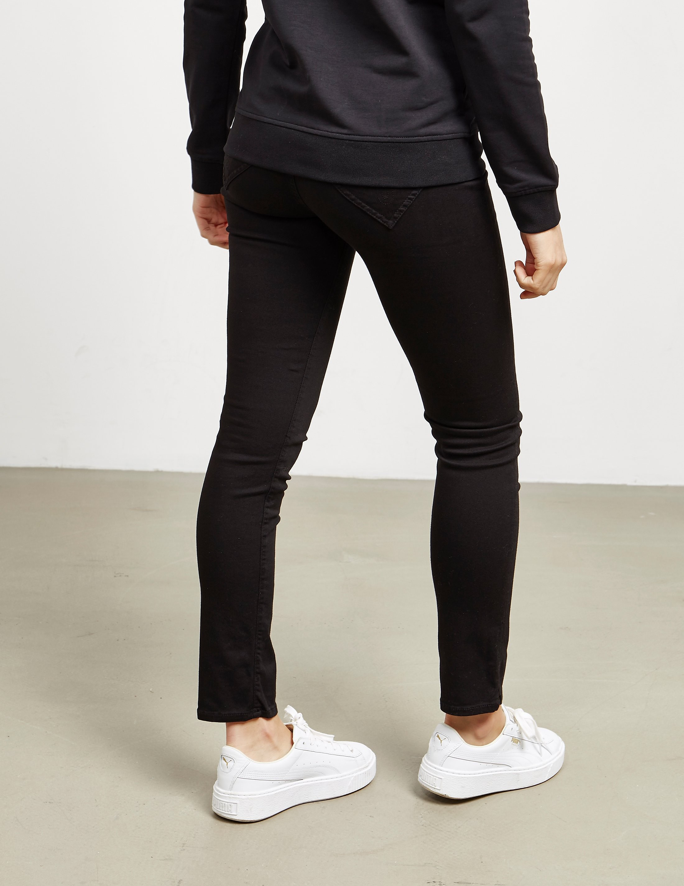 Love Moschino Black Heart Jeans