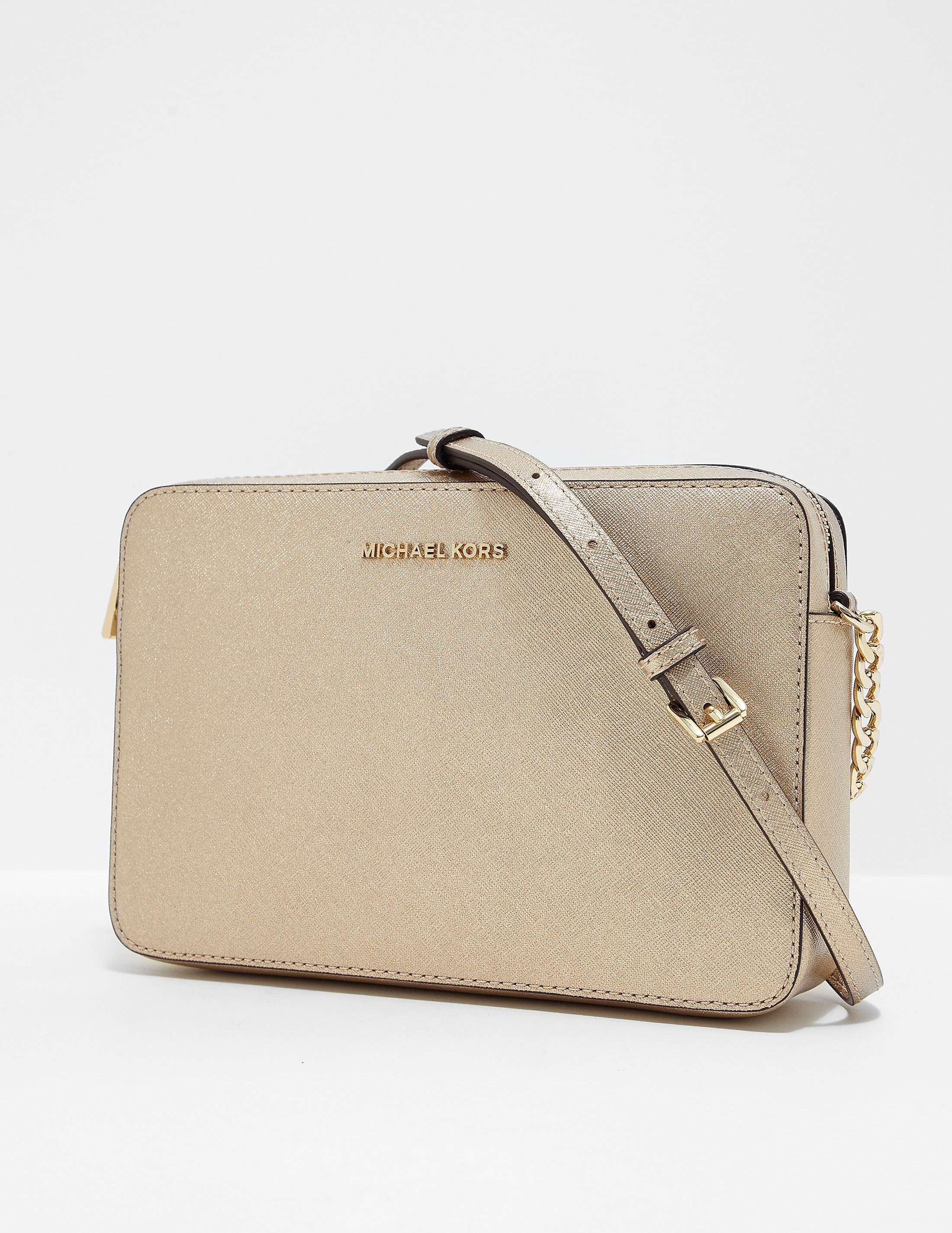 Michael Kors Crossbody Metallic Handbag