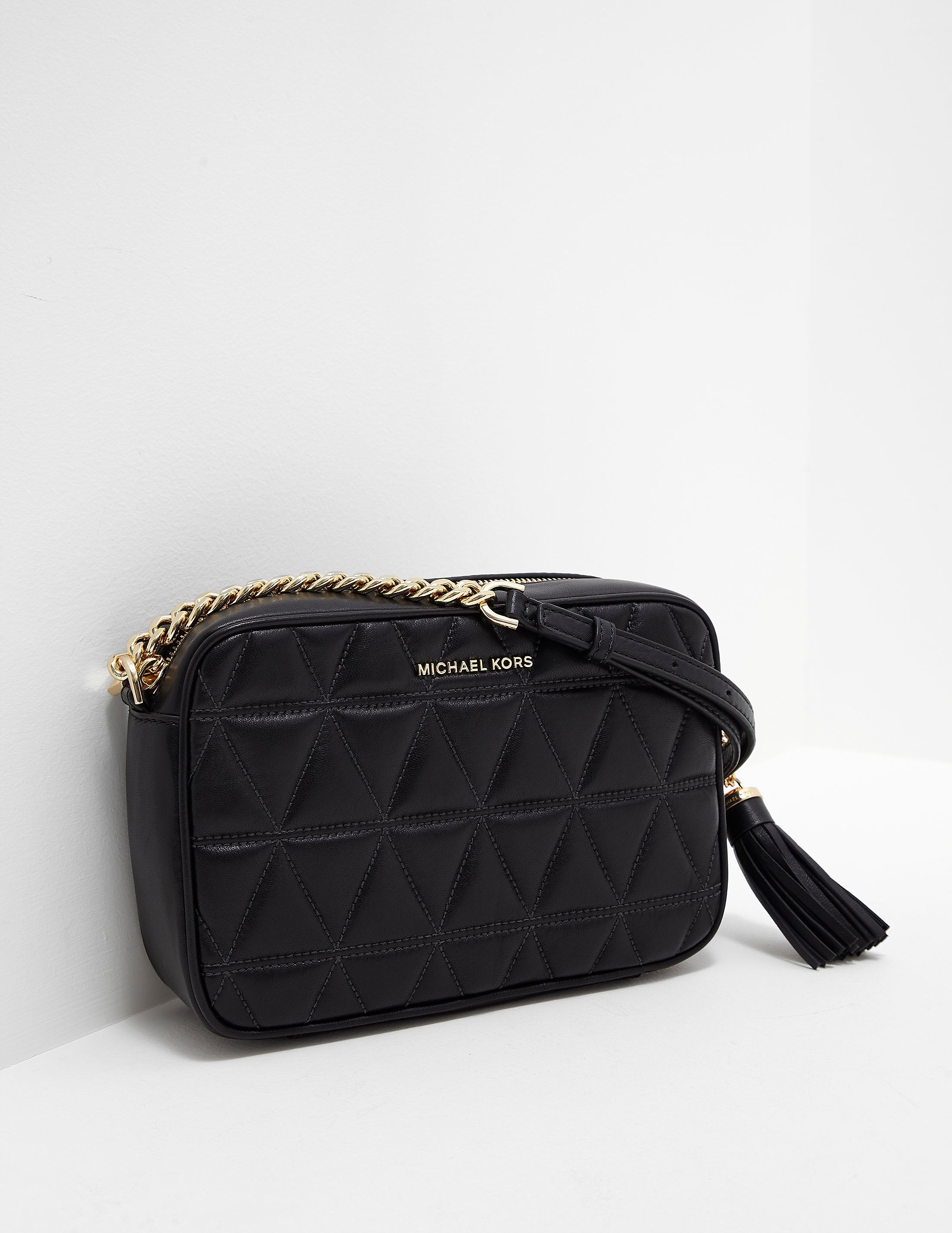 Michael Kors Ginny Quilted Camera Bag