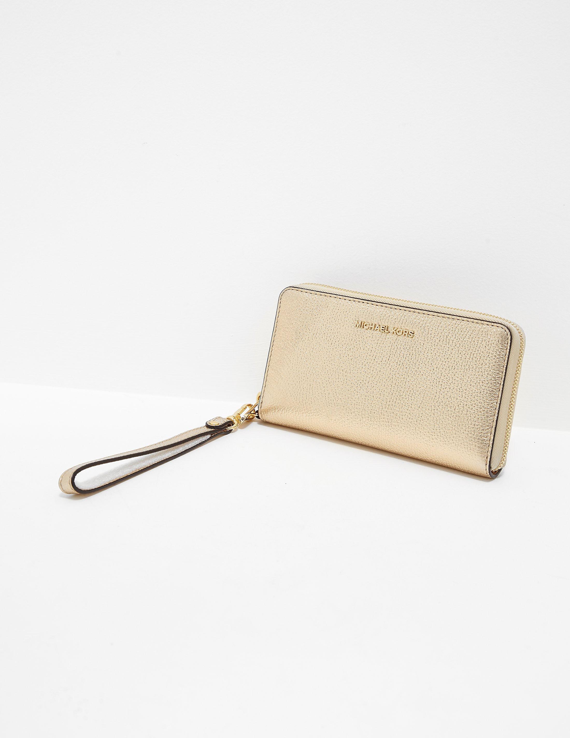 Michael Kors Flat Zip-Around Phone case