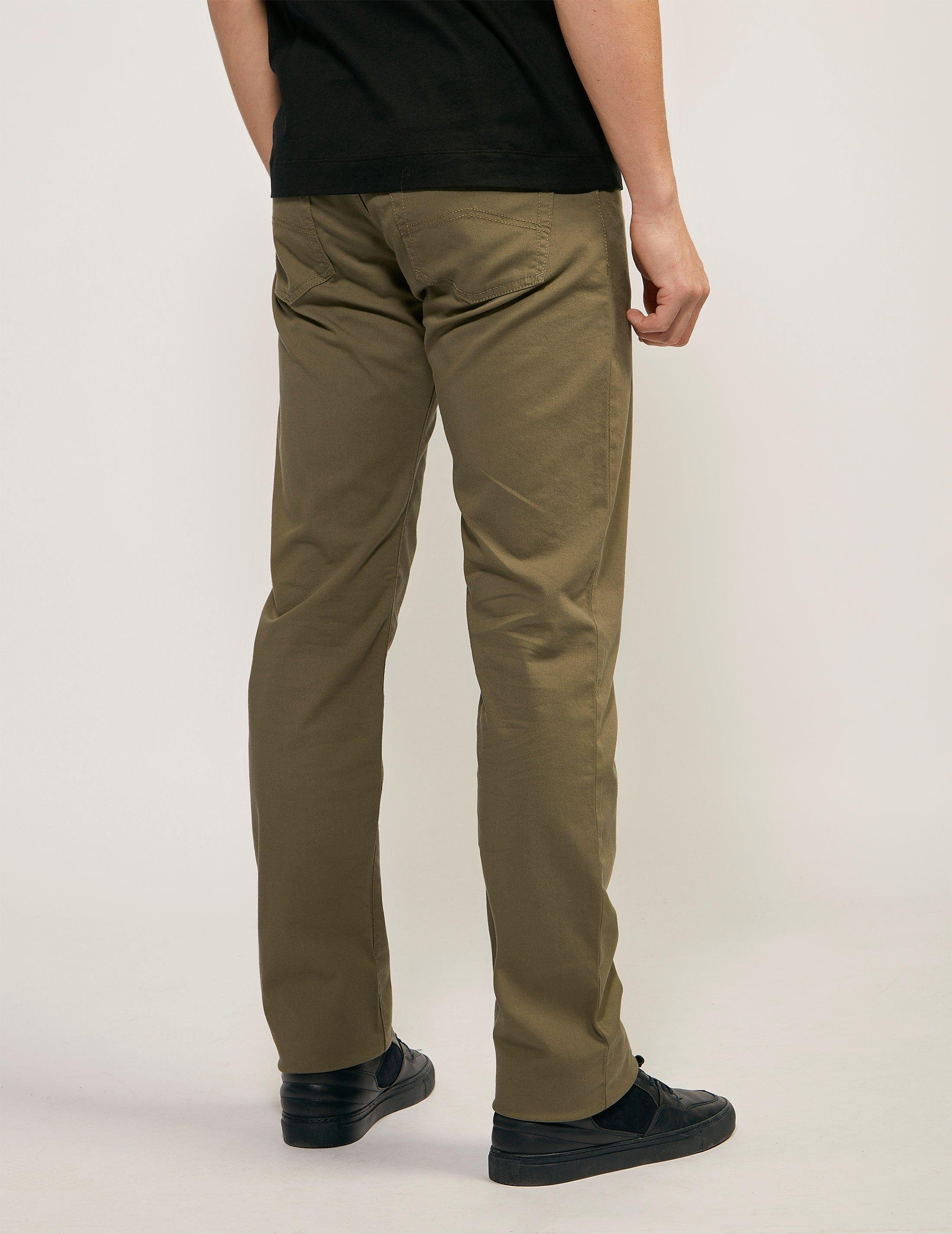 Armani Jeans J21 Comfort Stretch Gabardine Jean - Long