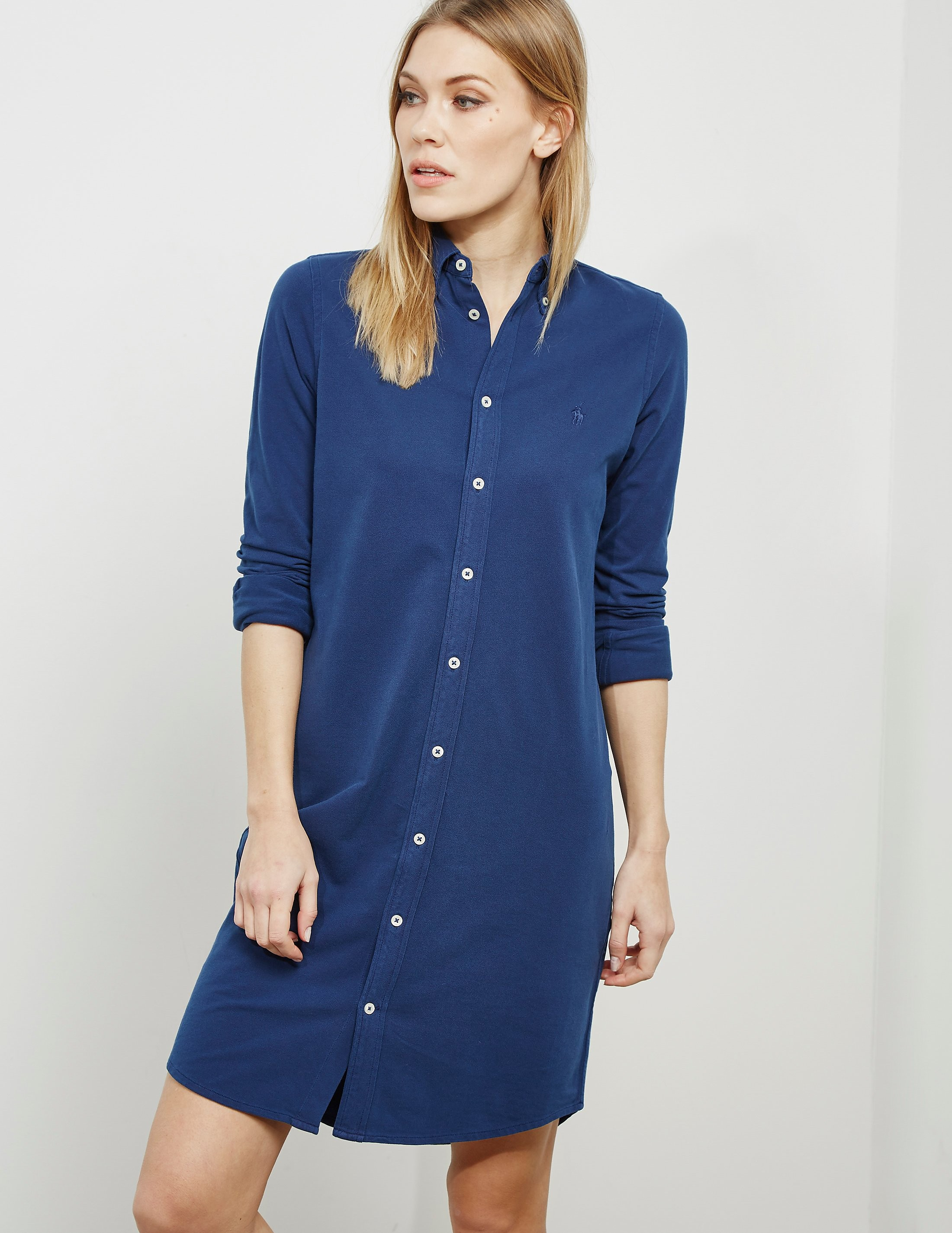 Polo Ralph Lauren Long Sleeve Shirt Dress