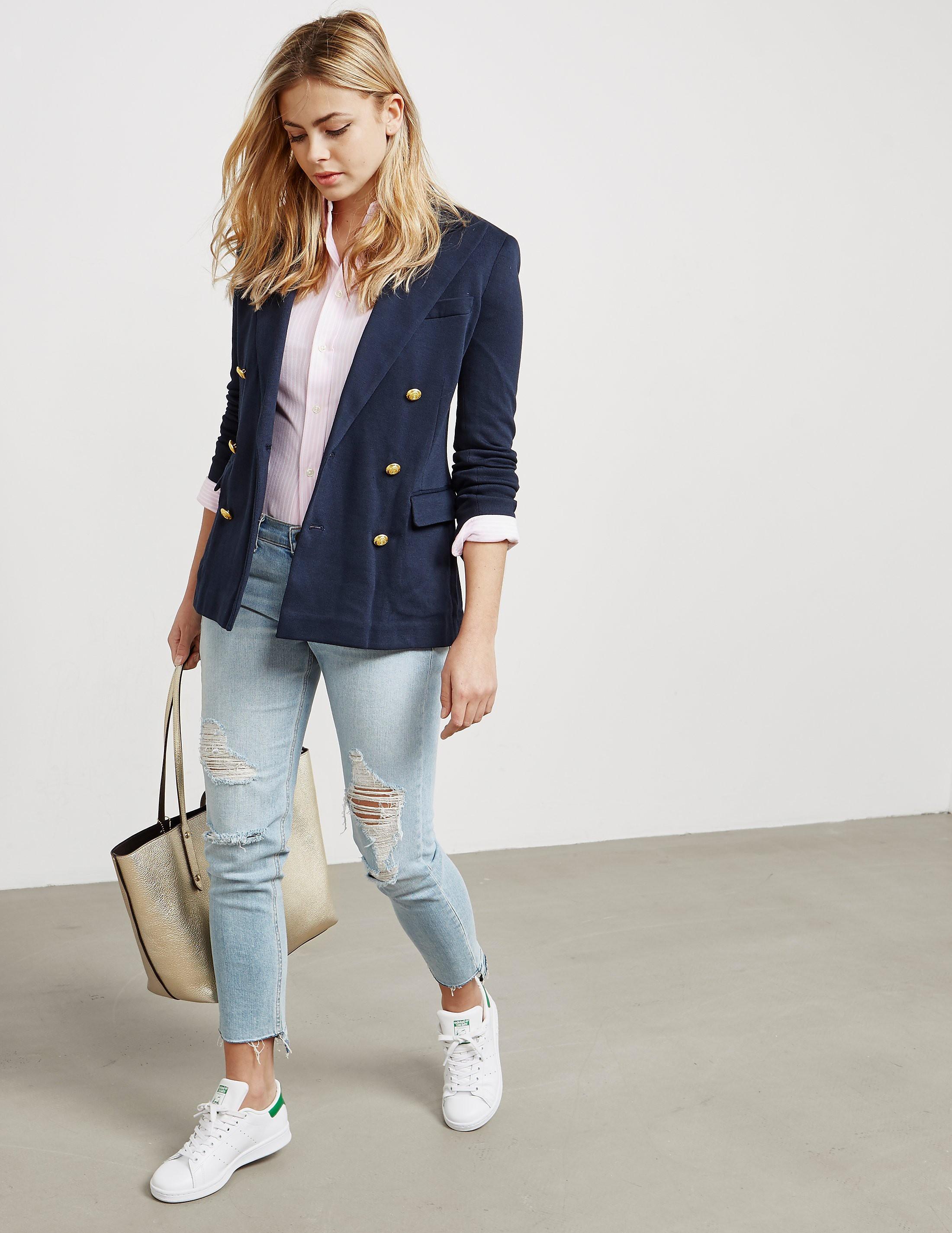 Polo Ralph Lauren Knitted Double Button Blazer