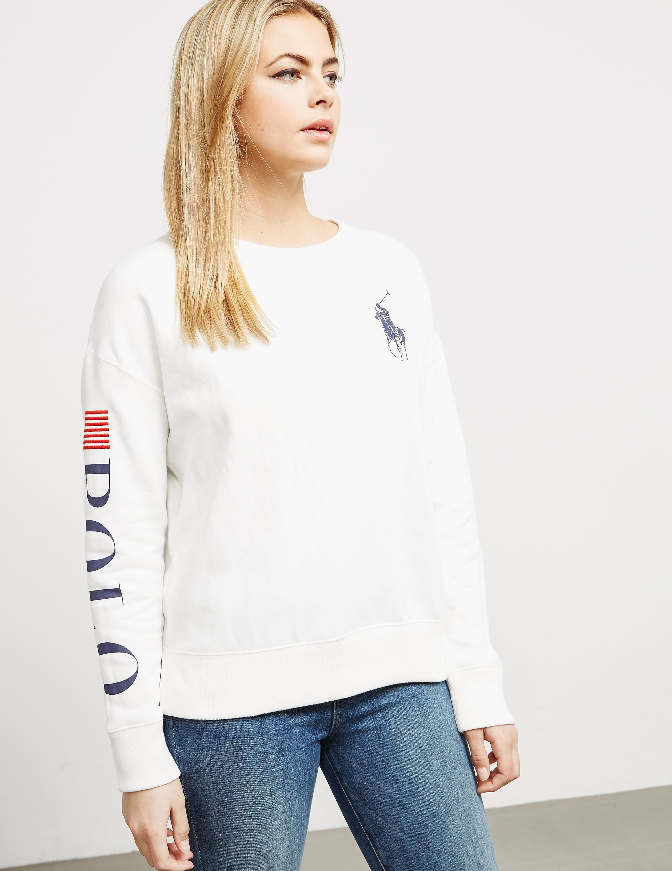 Polo Ralph Lauren Flag Crew Neck Sweatshirt