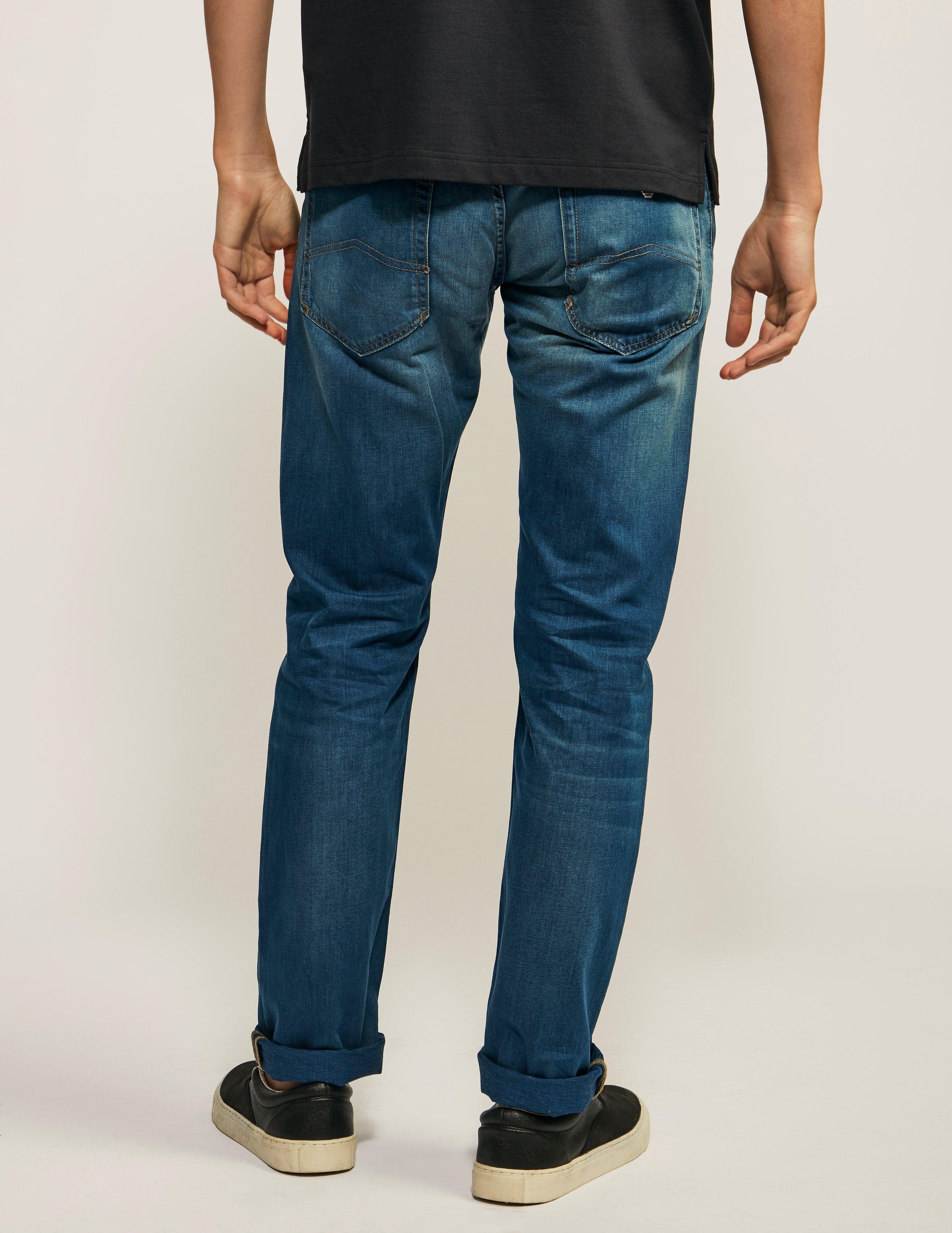 Armani Jeans J23 Lightweight Slim Fit Jeans