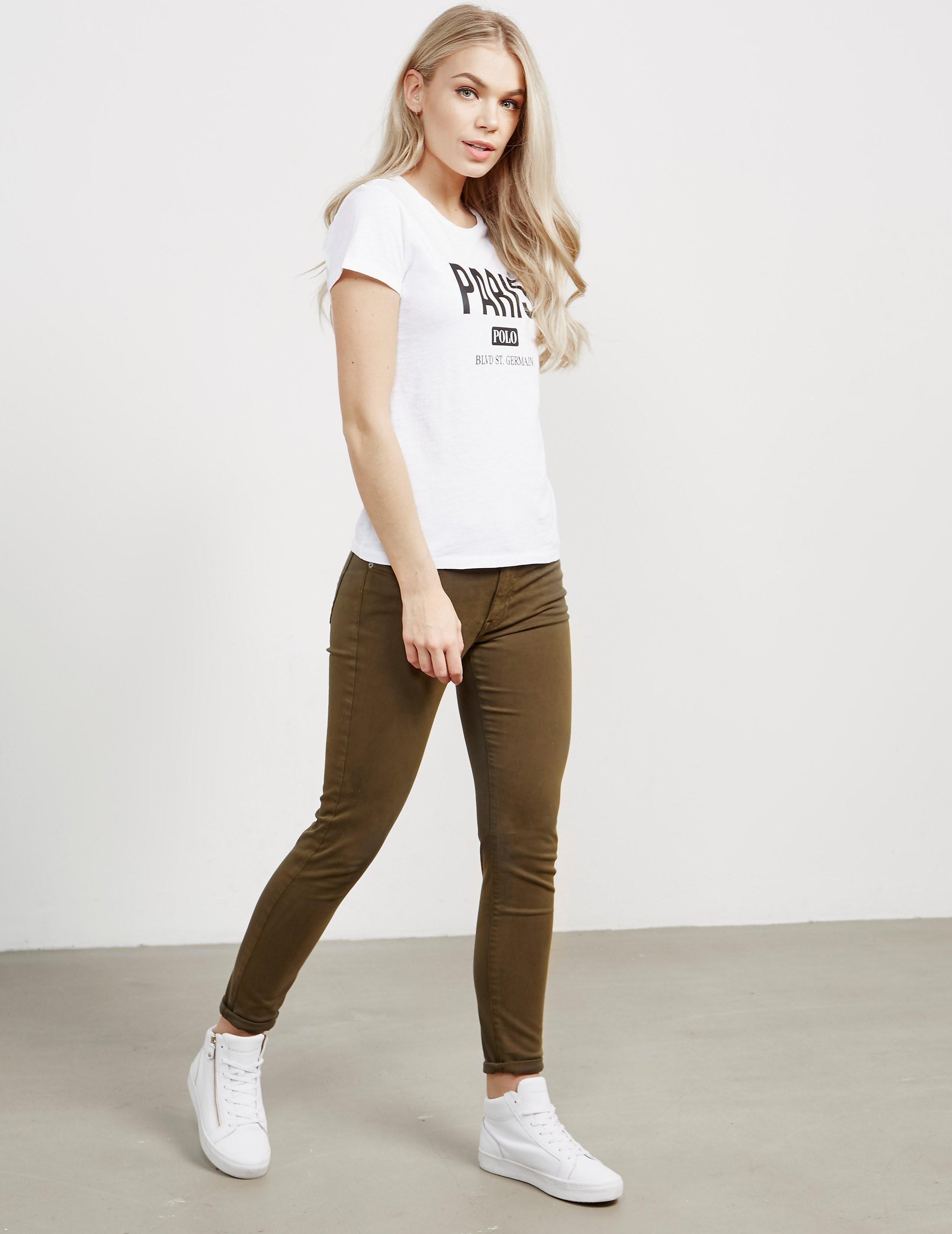 Polo Ralph Lauren Sateen Skinny Jeans