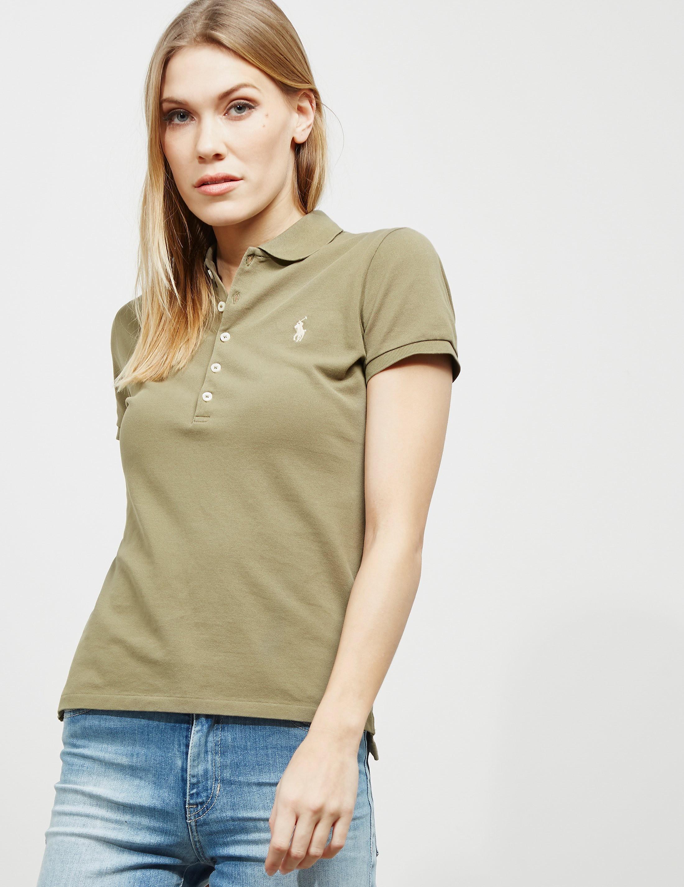Polo Ralph Lauren Julie Short Sleeve Polo Shirt