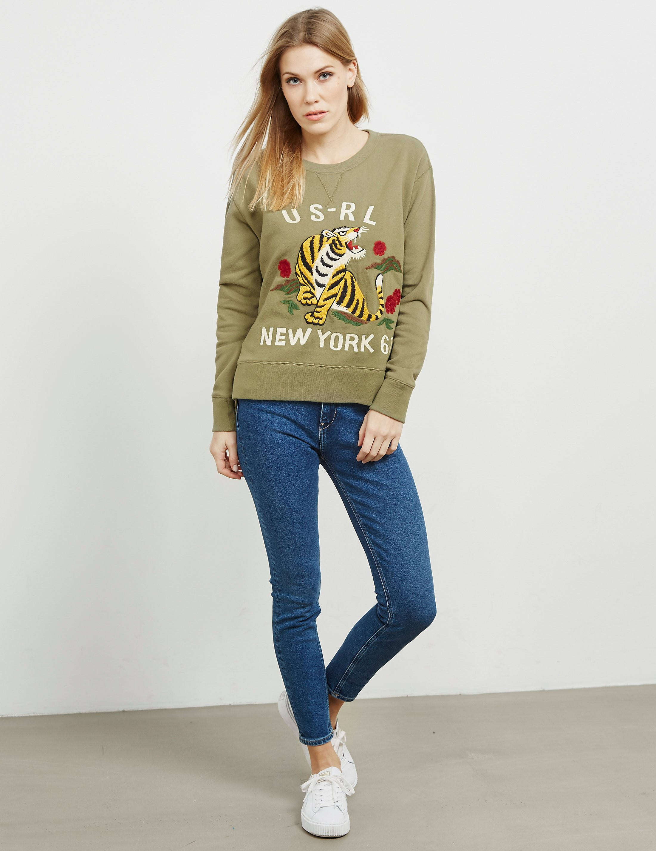 Polo Ralph Lauren Tiger Sweatshirt - Online Exclusive
