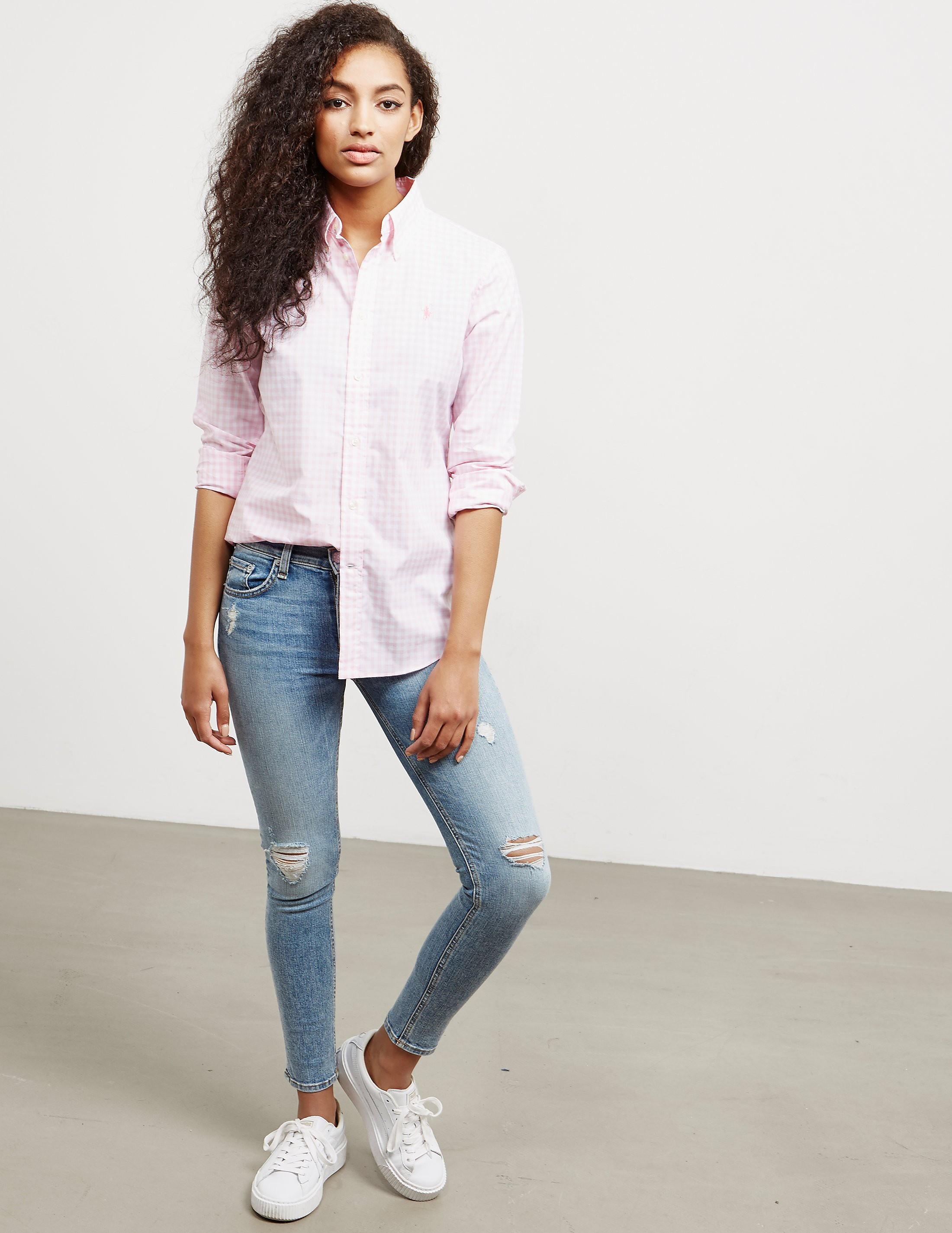 Polo Ralph Lauren Kendall Long Sleeve Shirt - Online Exclusive