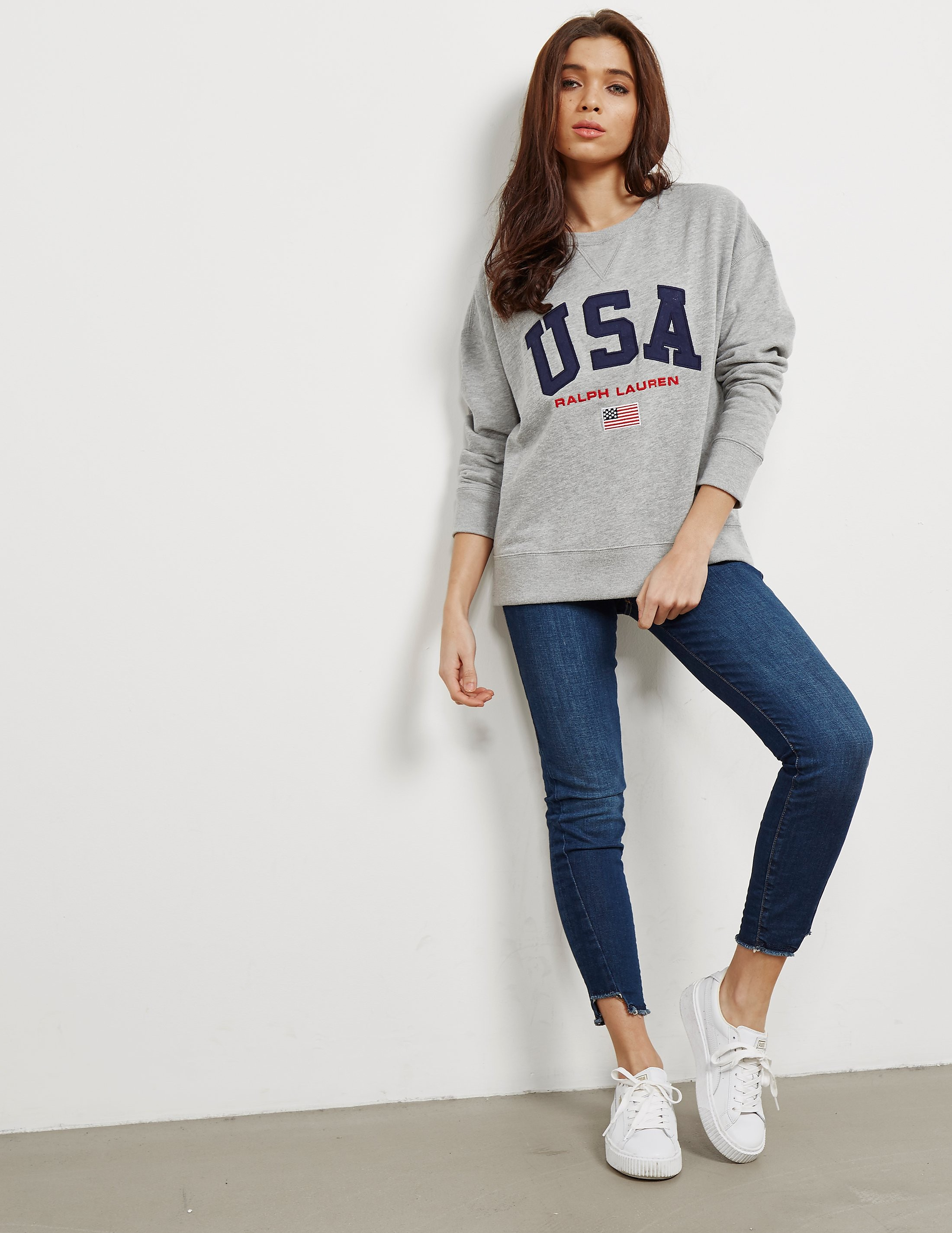 Polo Ralph Lauren USA Crew Sweatshirt
