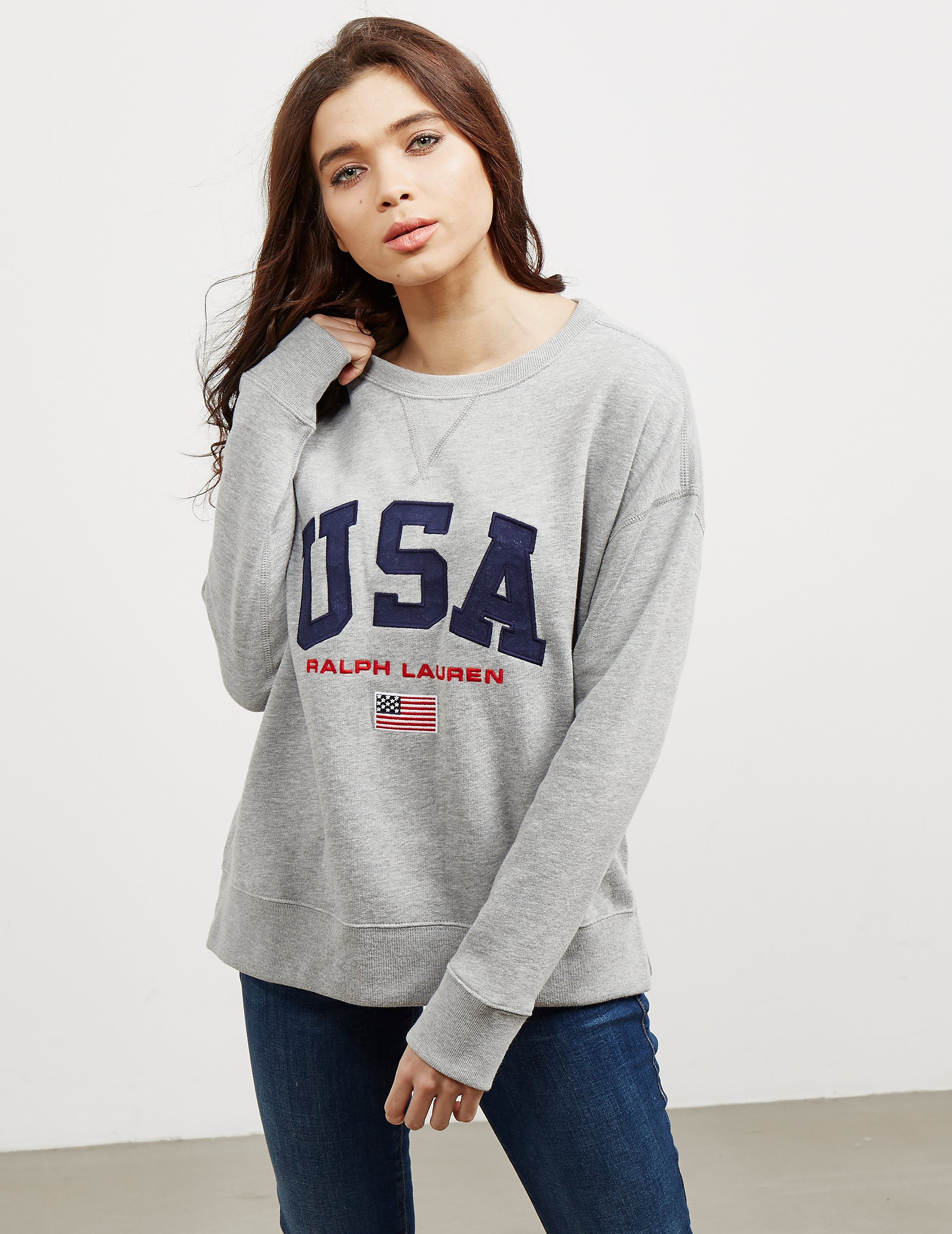 Polo Ralph Lauren USA Crew Sweatshirt