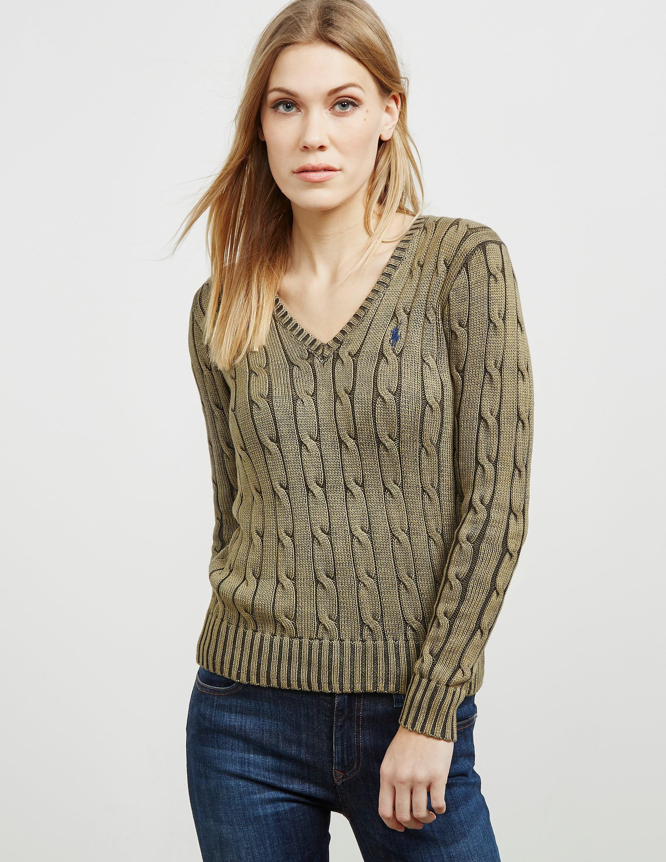 Polo Ralph Lauren Kimberly V-Neck Knitted Jumper